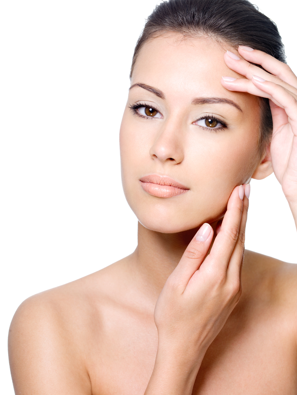 Beauty face of woman with clean skin - New Youth Medical Spa & Laser ...
