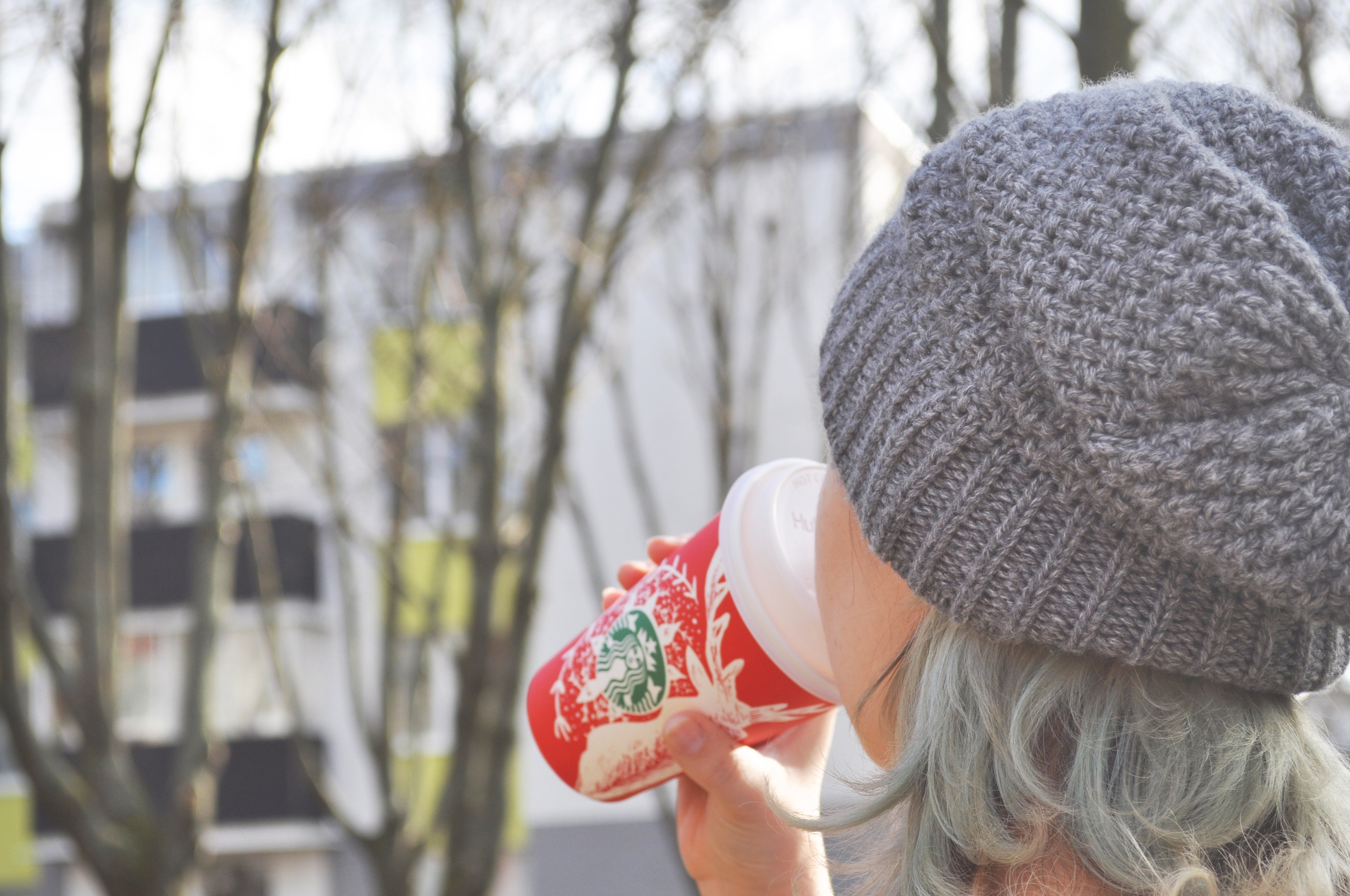 Woman Holding a cup, Refreshing, Portrait, People, Outdoors, HQ Photo