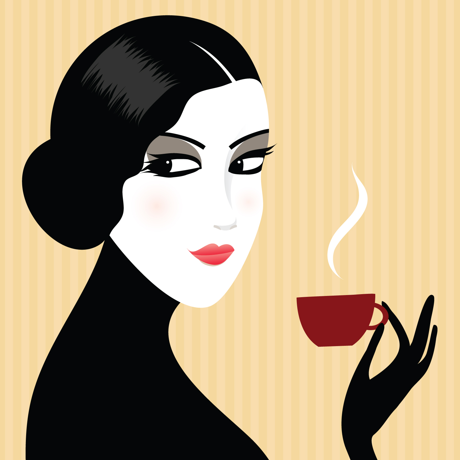 Woman illustration photo