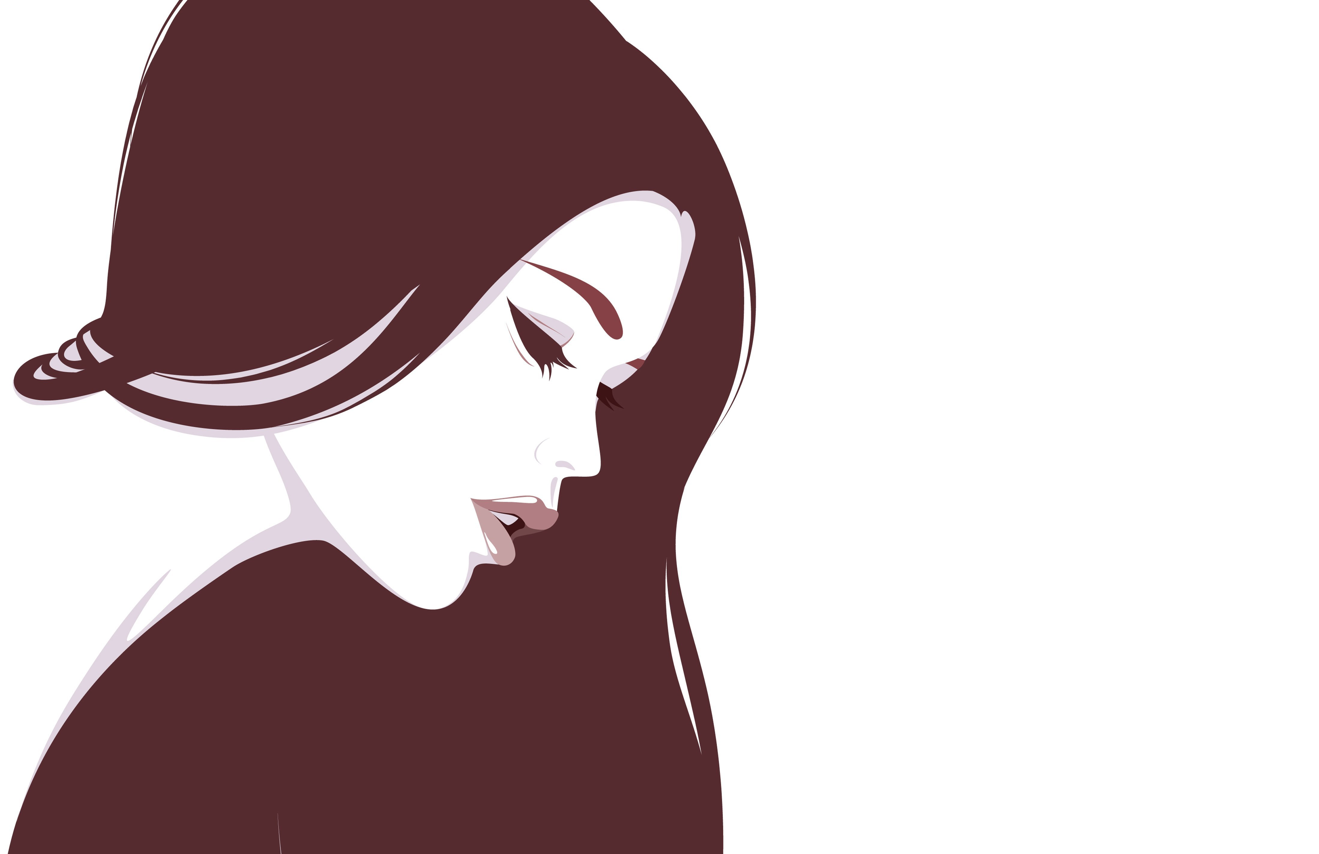 Classic Women illustration 4k Ultra HD Wallpaper and Background ...