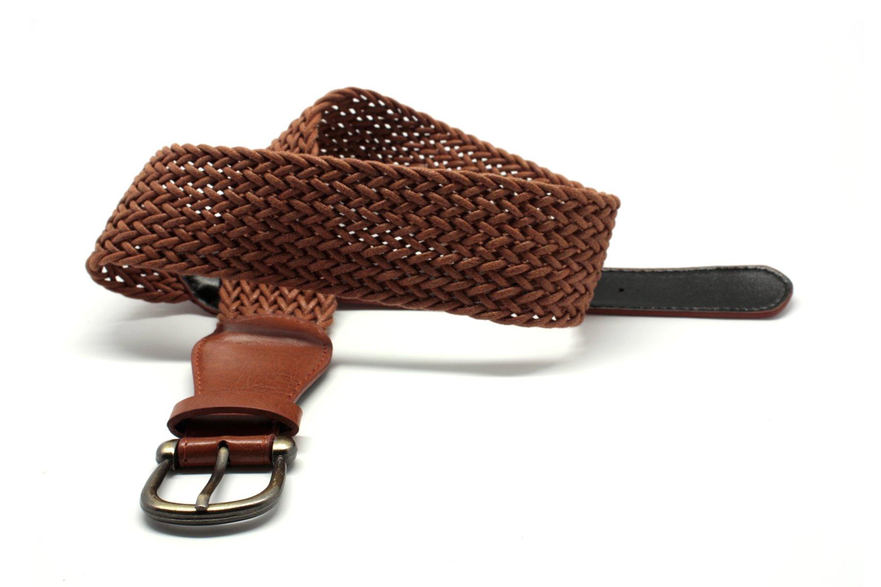 Woman leather belt photo