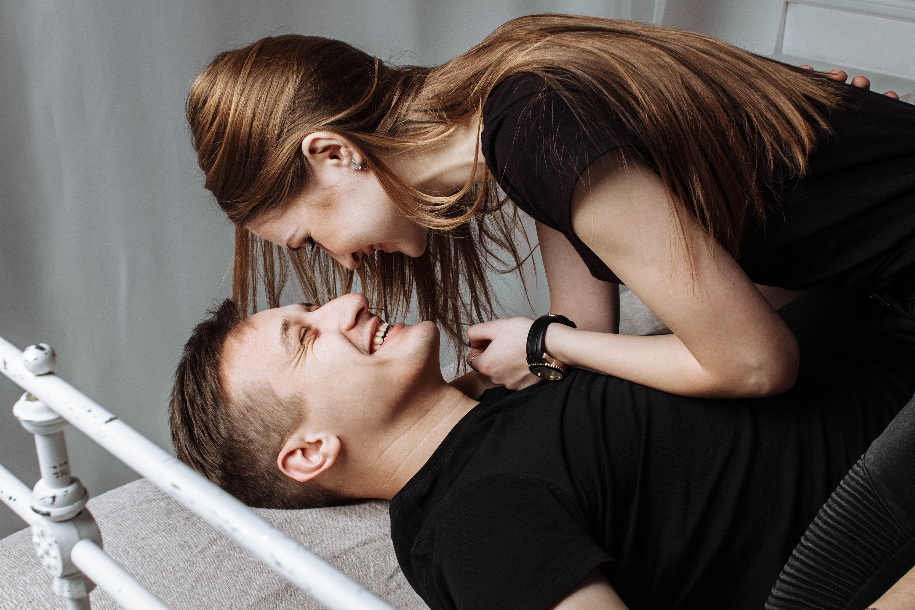 Woman Smiling, Man, Love, People, Smile, HQ Photo