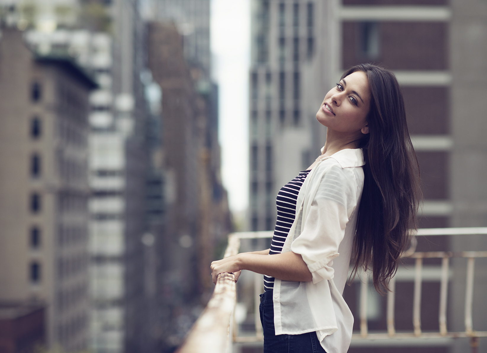 Nina - The bokeh on this 85 1.4g is insane! | portraits | Pinterest ...
