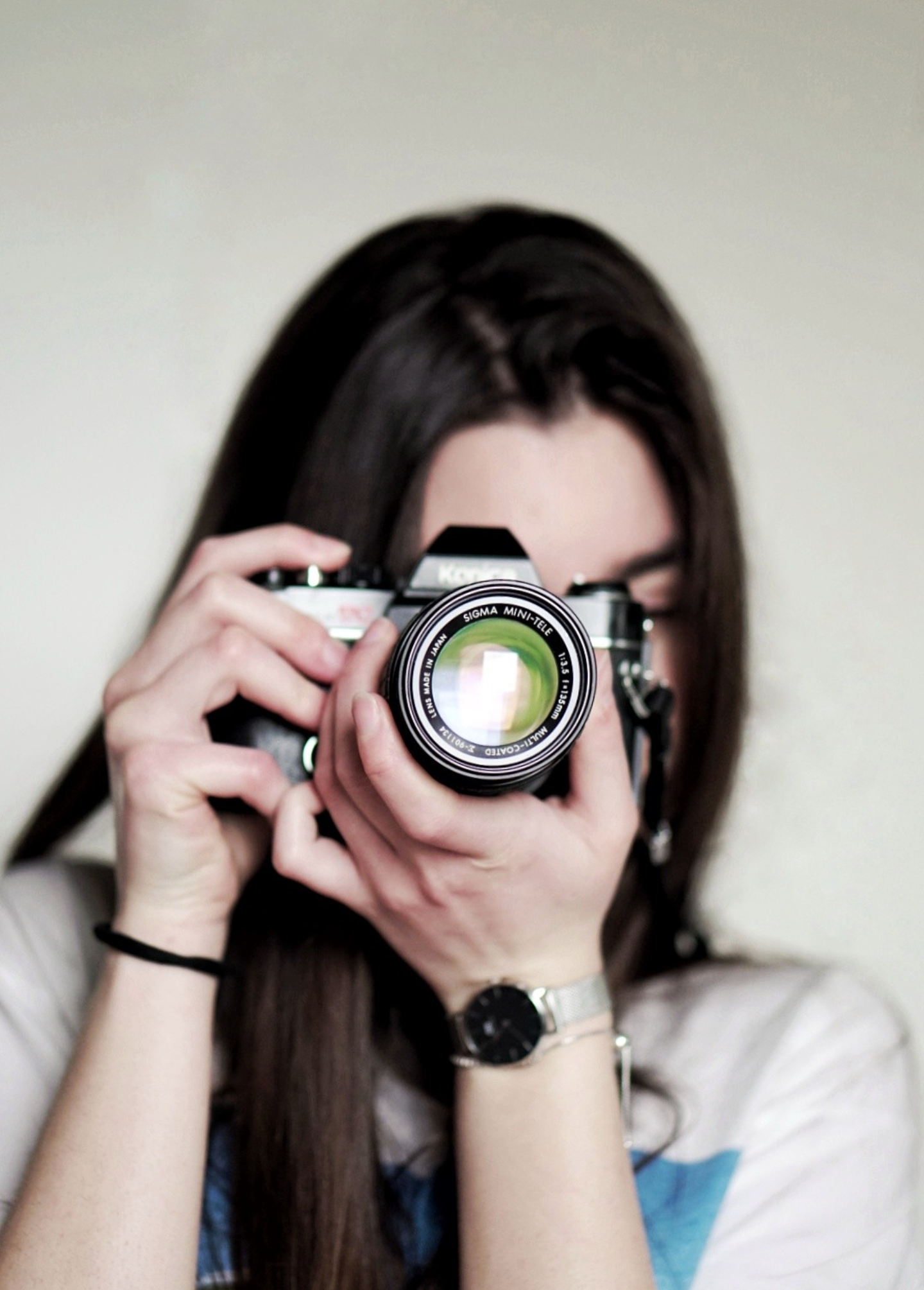 Woman Taking a Photo Using Dslr Camera, Attractive, Person, Wrist watch, Woman, HQ Photo