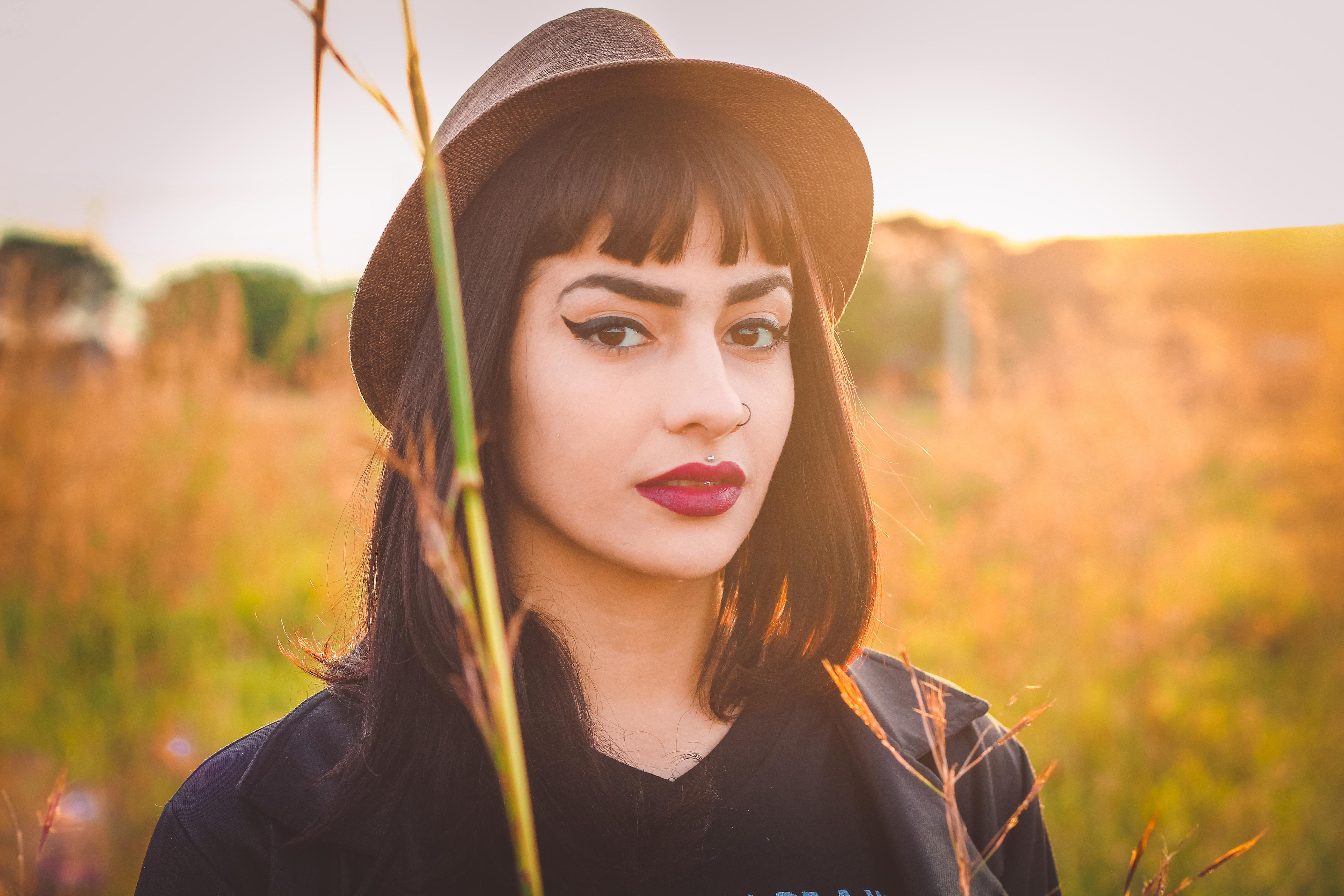 Woman Wearing Hat Free Photo - ISO Republic