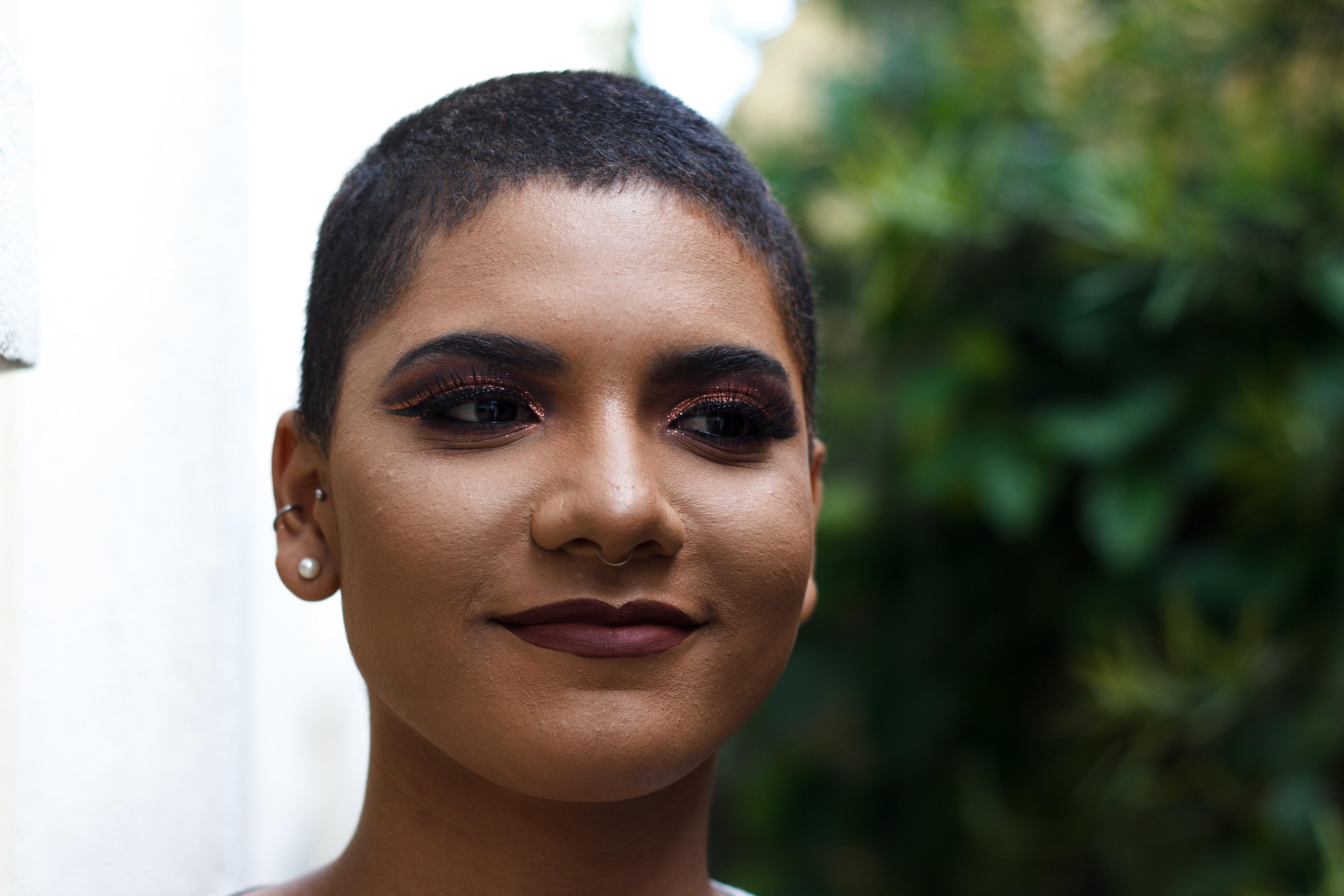Woman's face photo