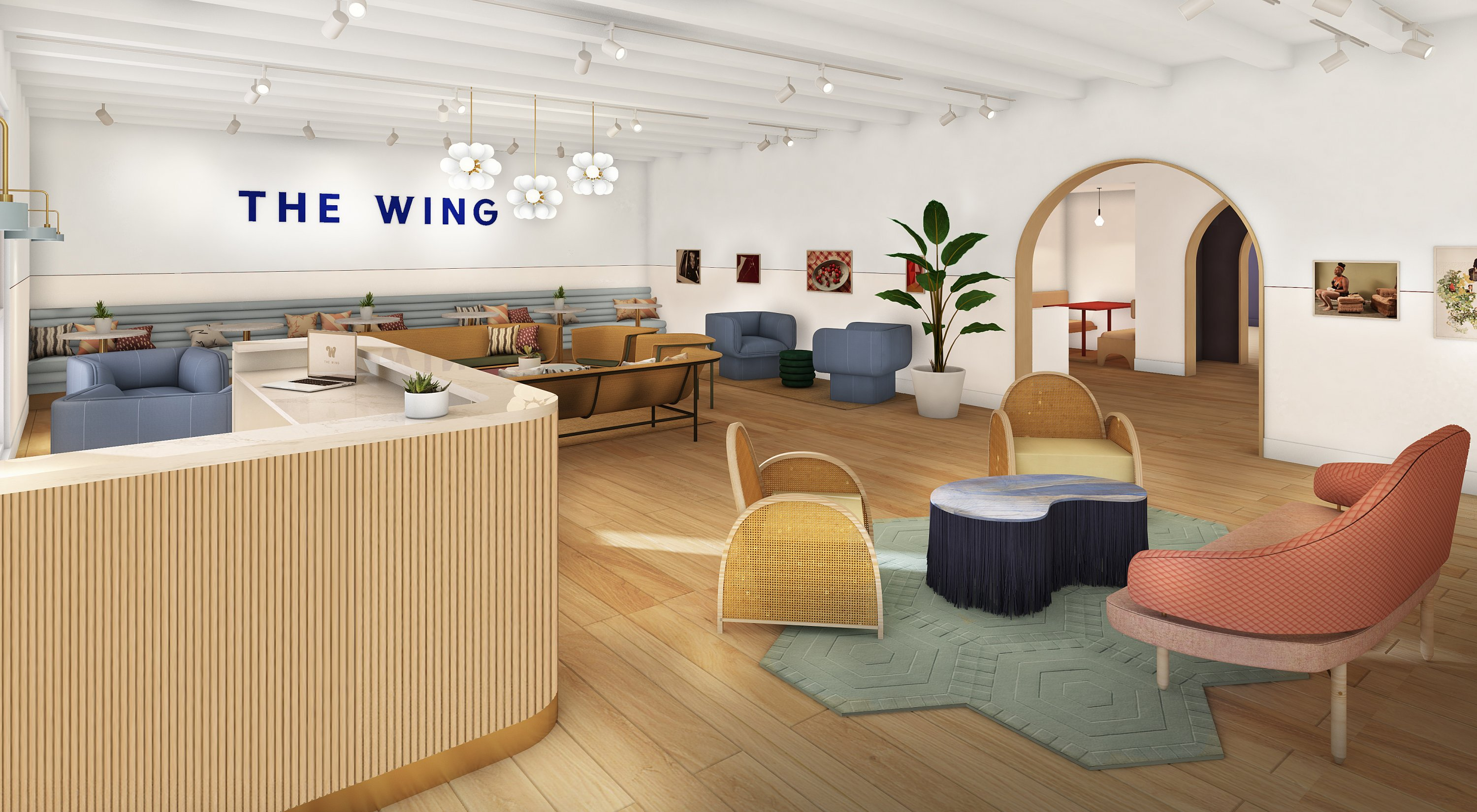 A First Look At the Wing, the Ultra-Chic Women's Coworking Space and ...