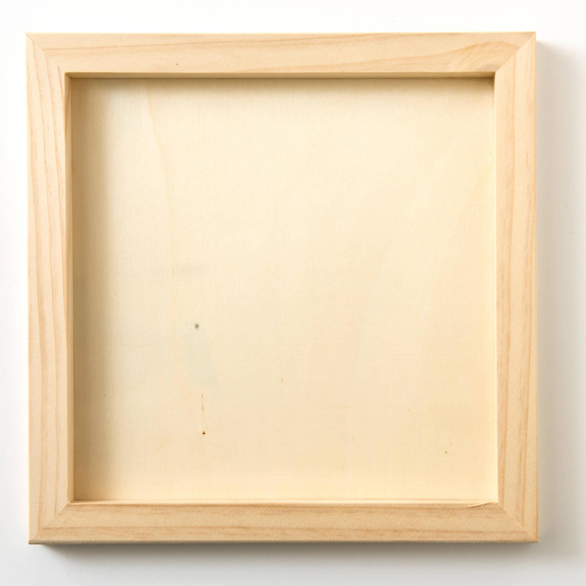 Plaid Wood Surfaces, Canvas Panel, size: 10