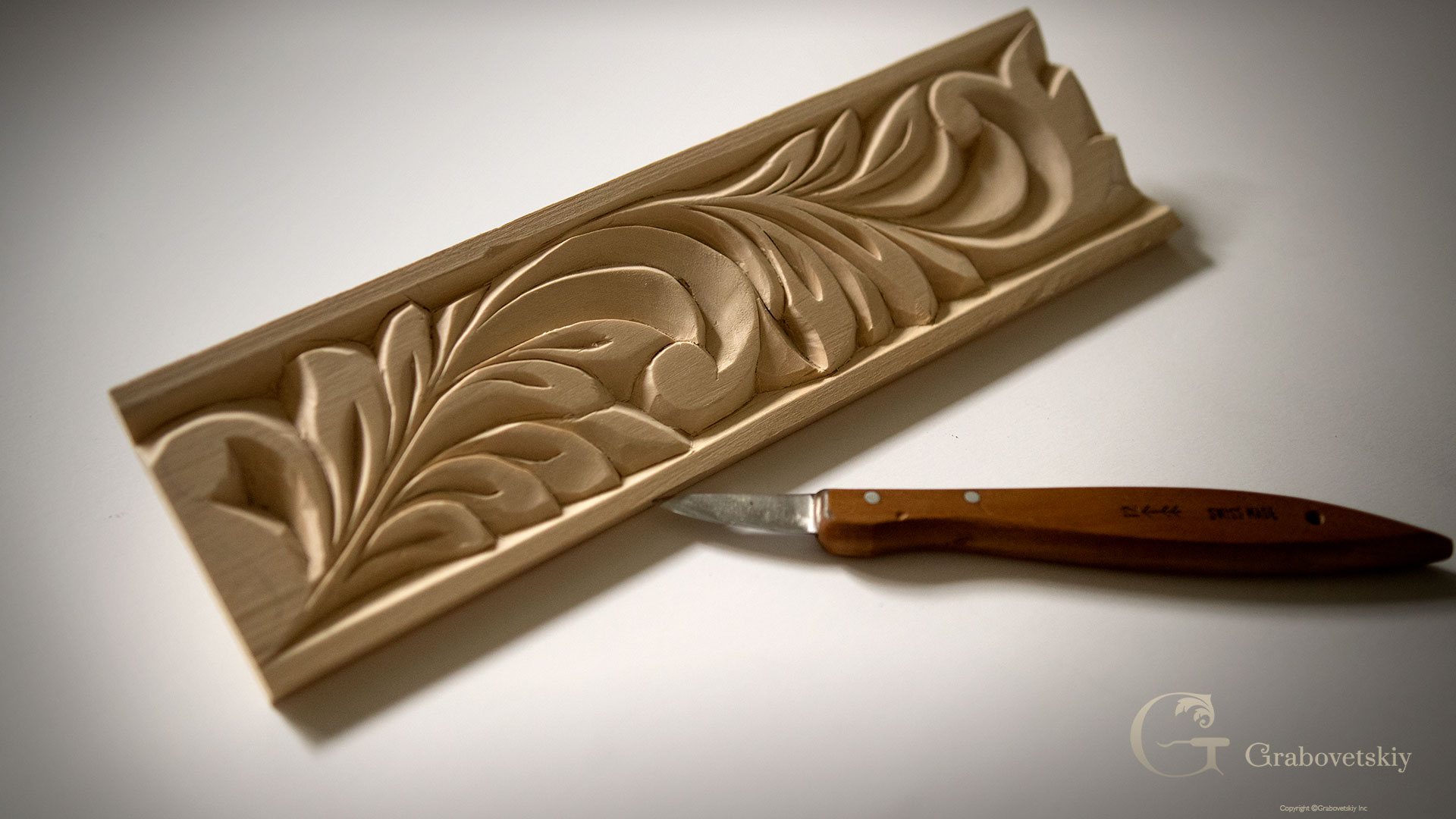 Beginner in Woodcarving project Assignment - Grabovetskiy School of ...