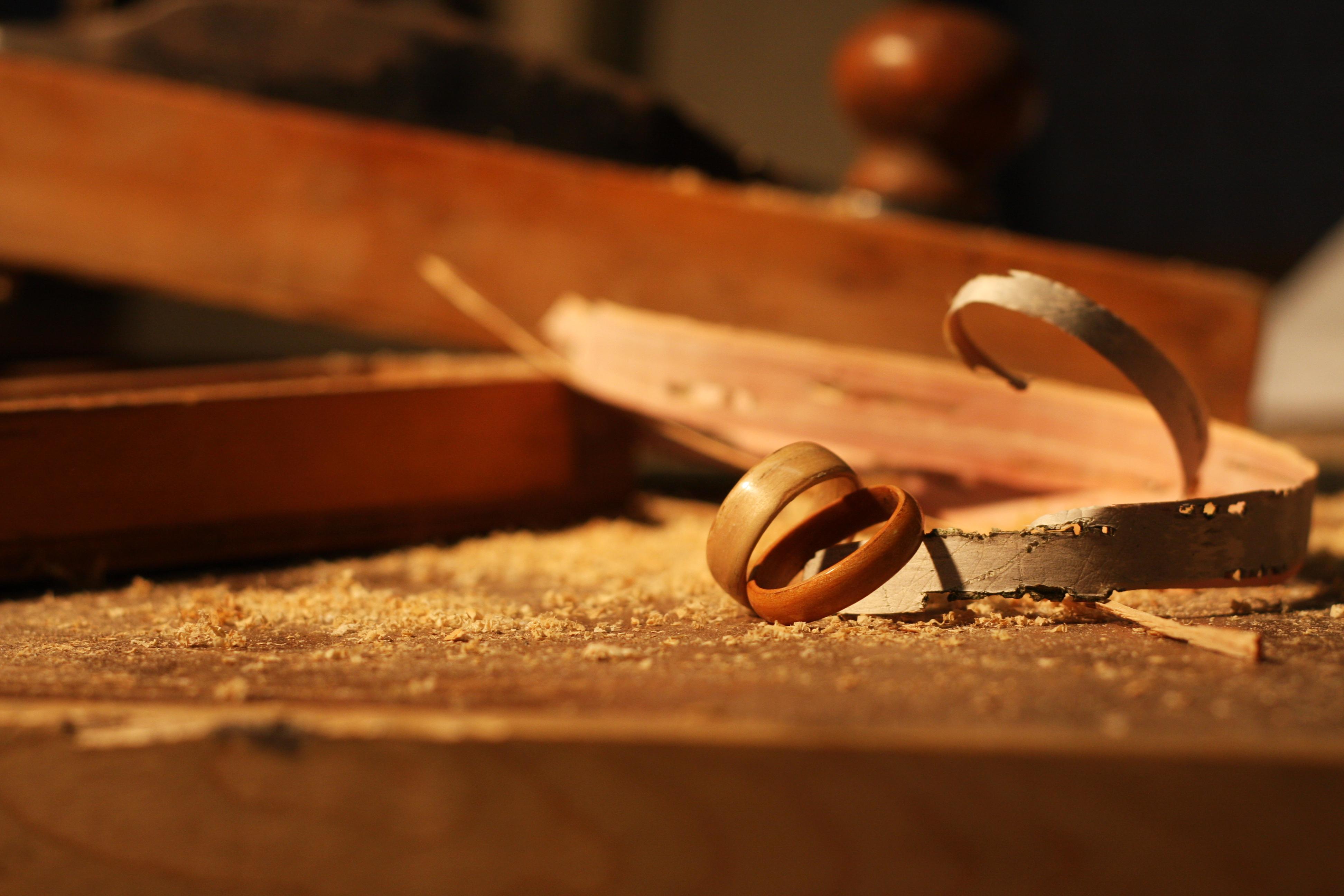 Material Samples | bentwood rings… from bojt studio