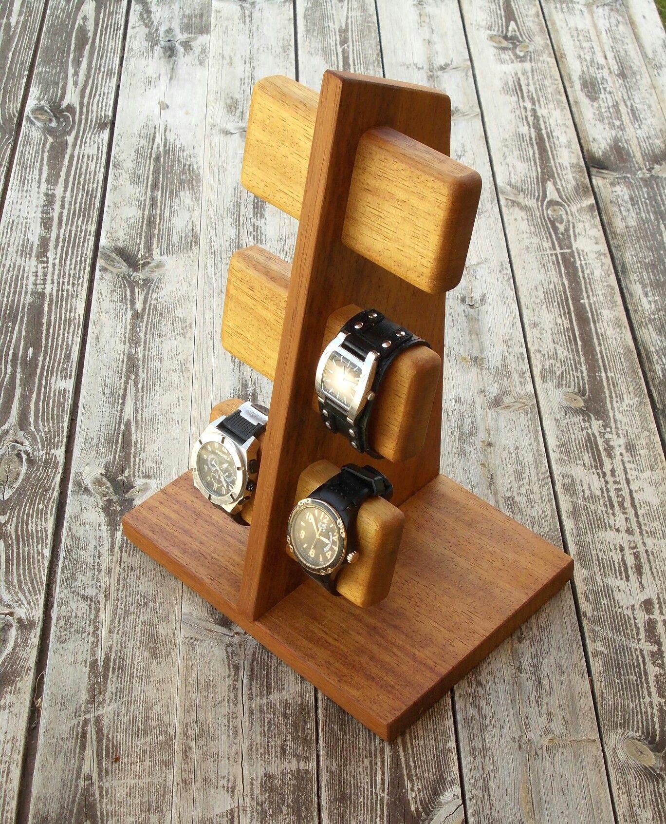 Modern, handmade Watch stand watch display watch holder Más - My ...