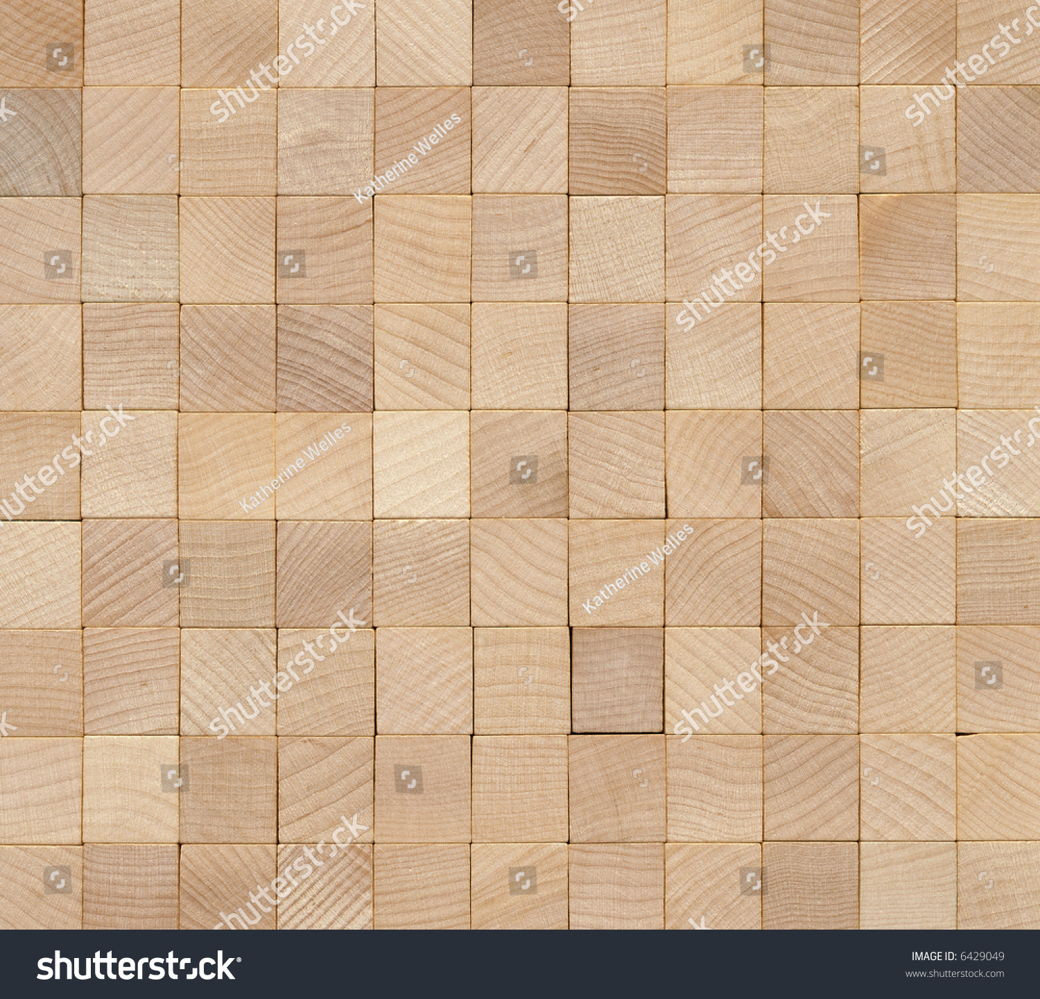 Blank Wooden Board Game Tiles Arranged Stock Photo & Image (Royalty ...