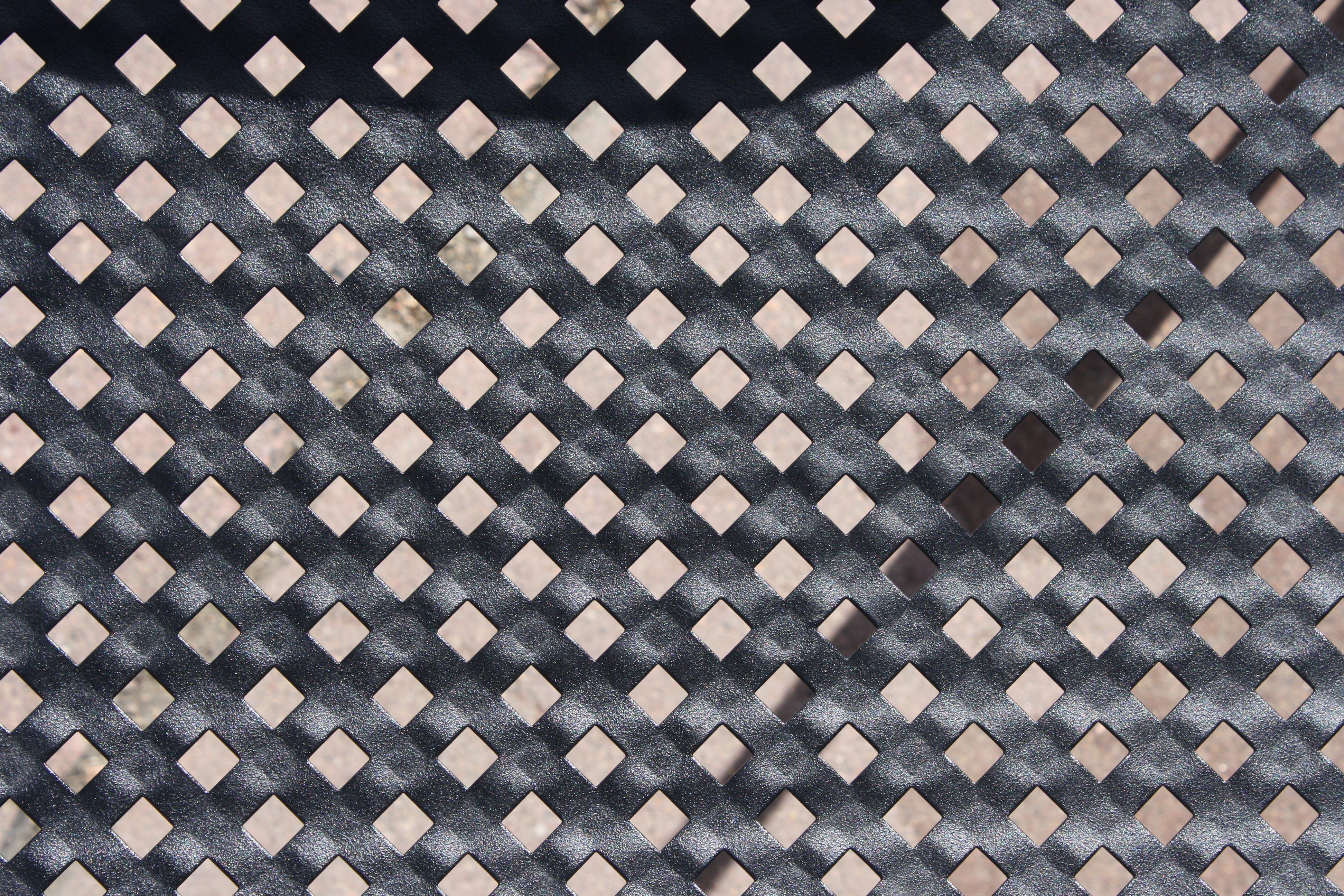 Black Metal Cross Grid Texture Picture | Free Photograph | Photos ...