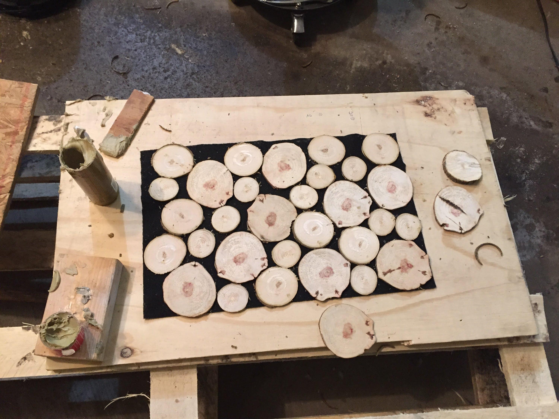 Wood logs photo