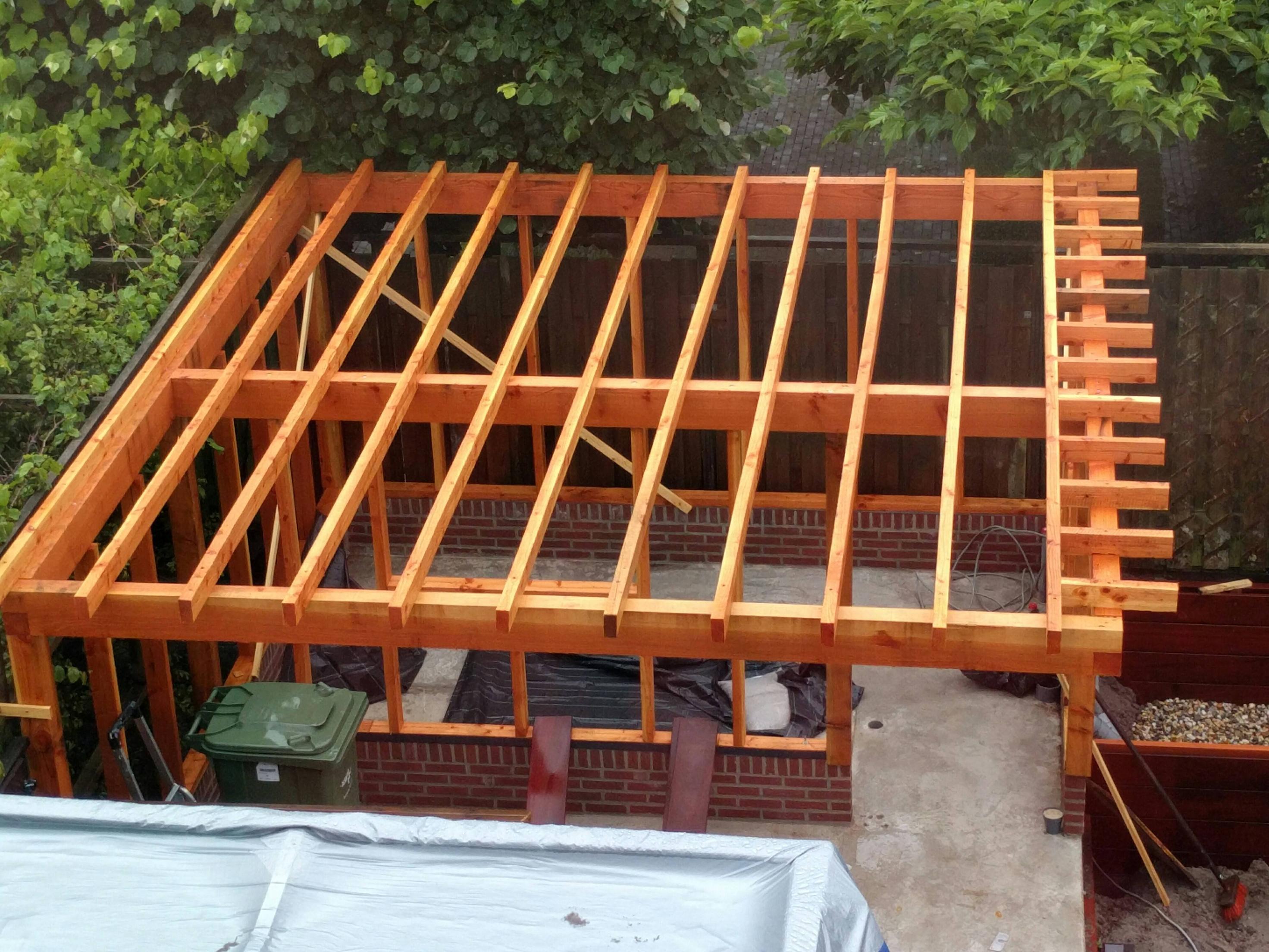 Wood roof photo