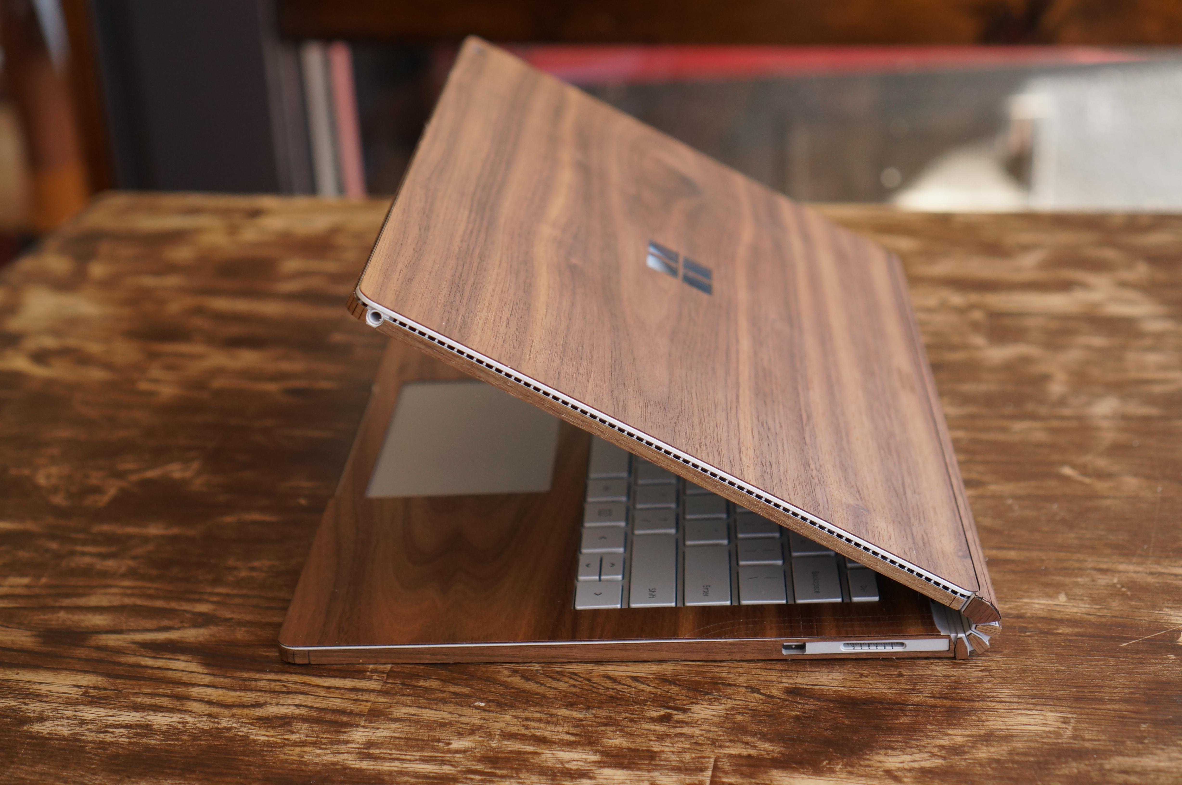 Surface Book Toast Wood cover review: Protect your laptop in style ...