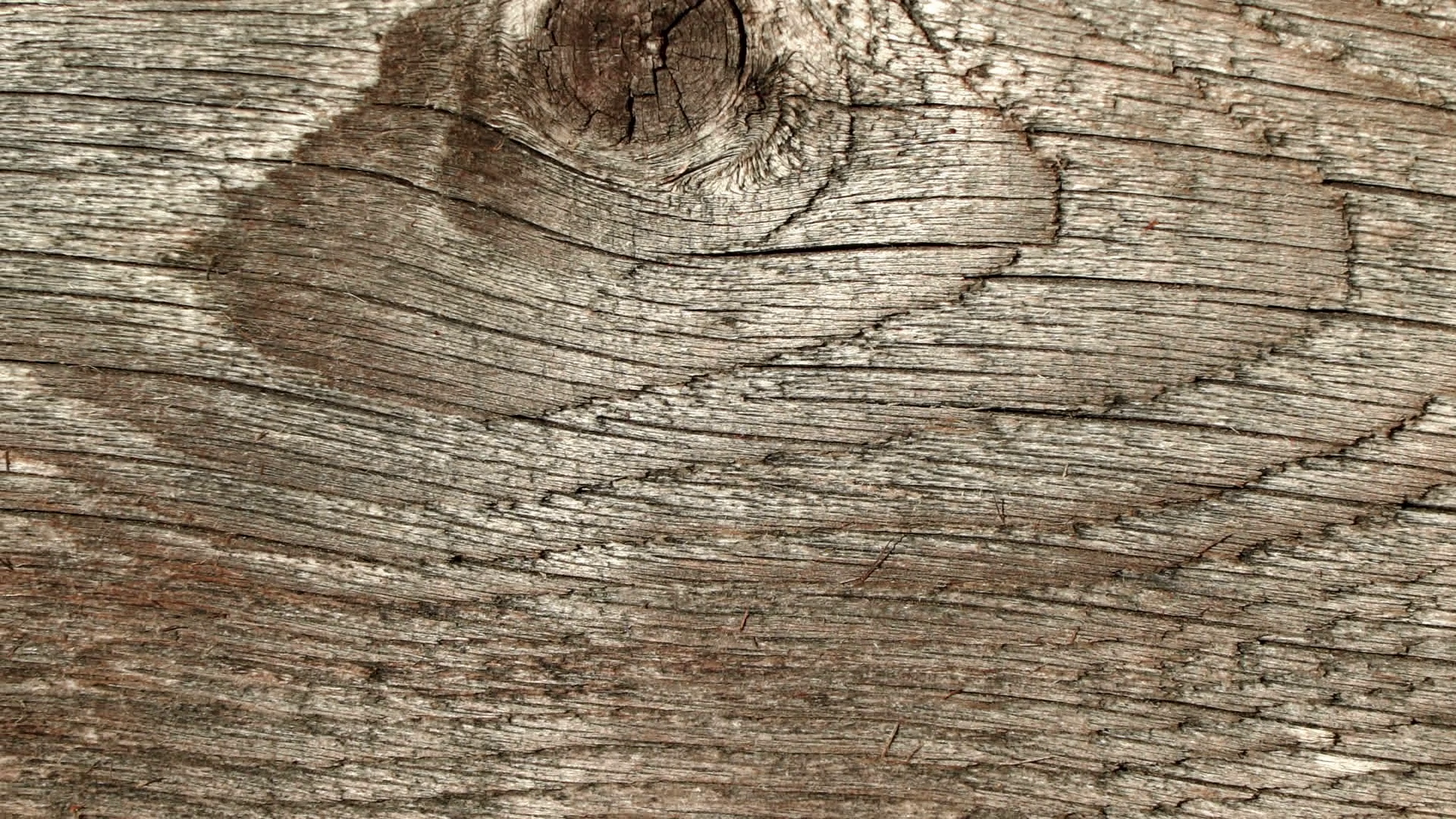 Natural old wood weathered board texture crack lines curves swirls ...
