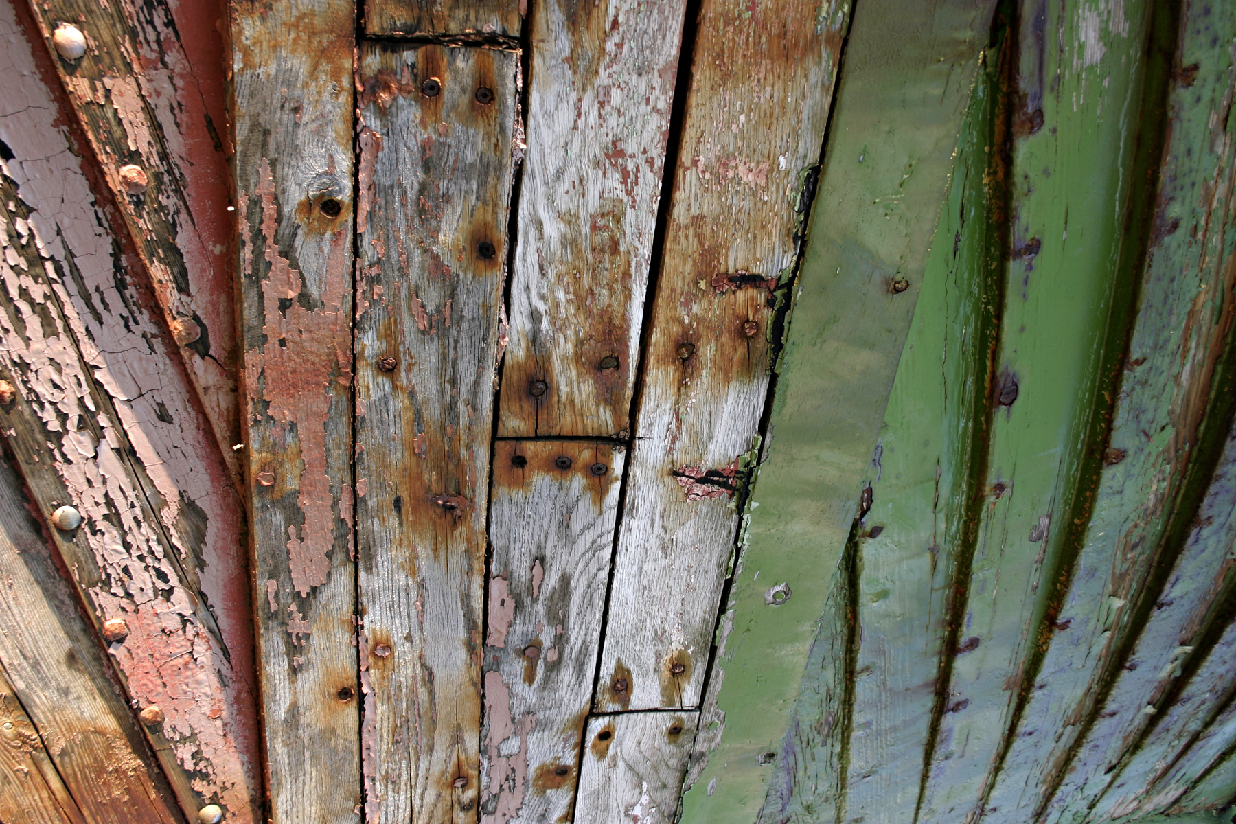 Wood texture, Bolts, Green, Lines, Old, HQ Photo