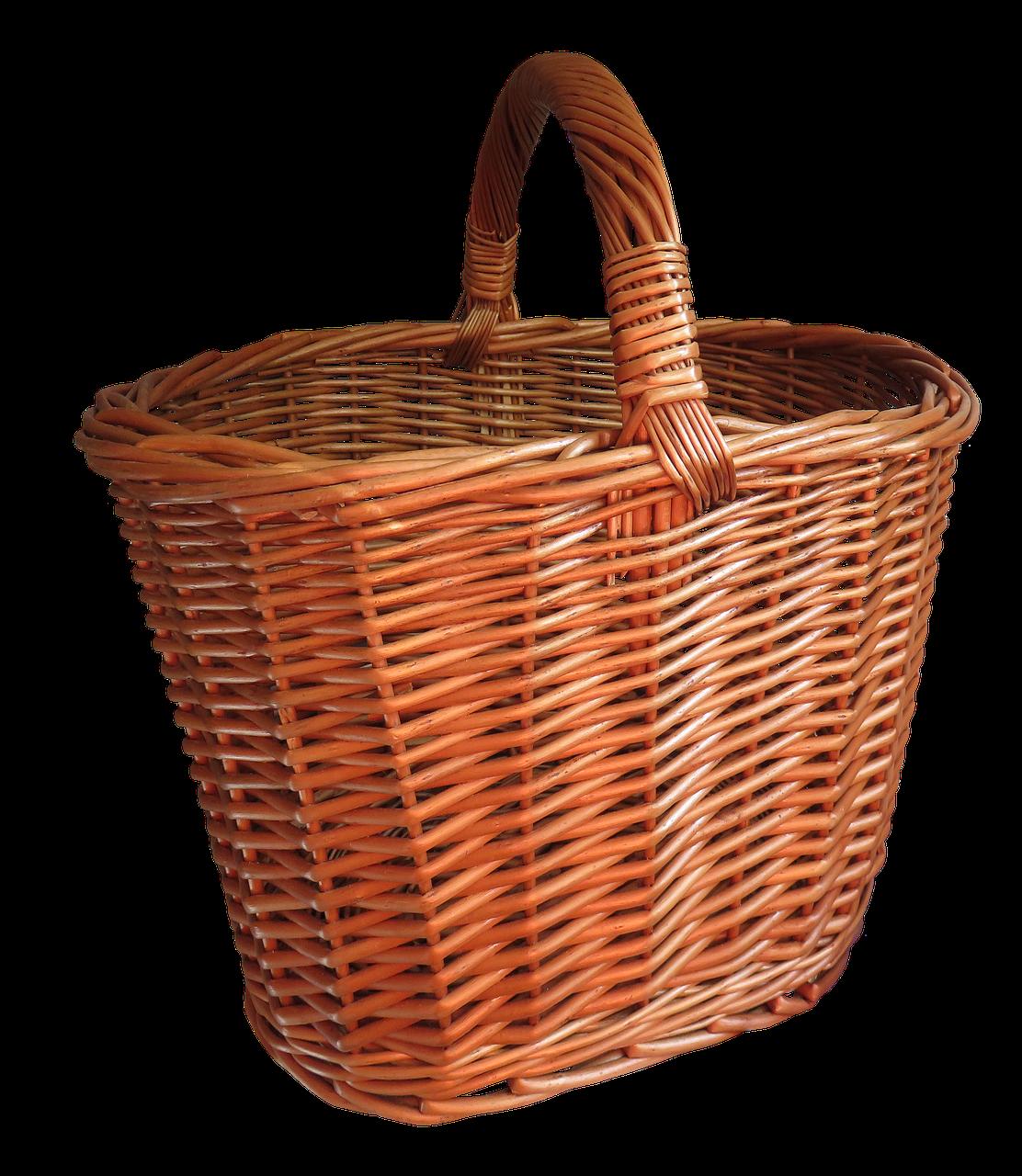 Wooden Basket, Basket, Keep, Object, Wood, HQ Photo