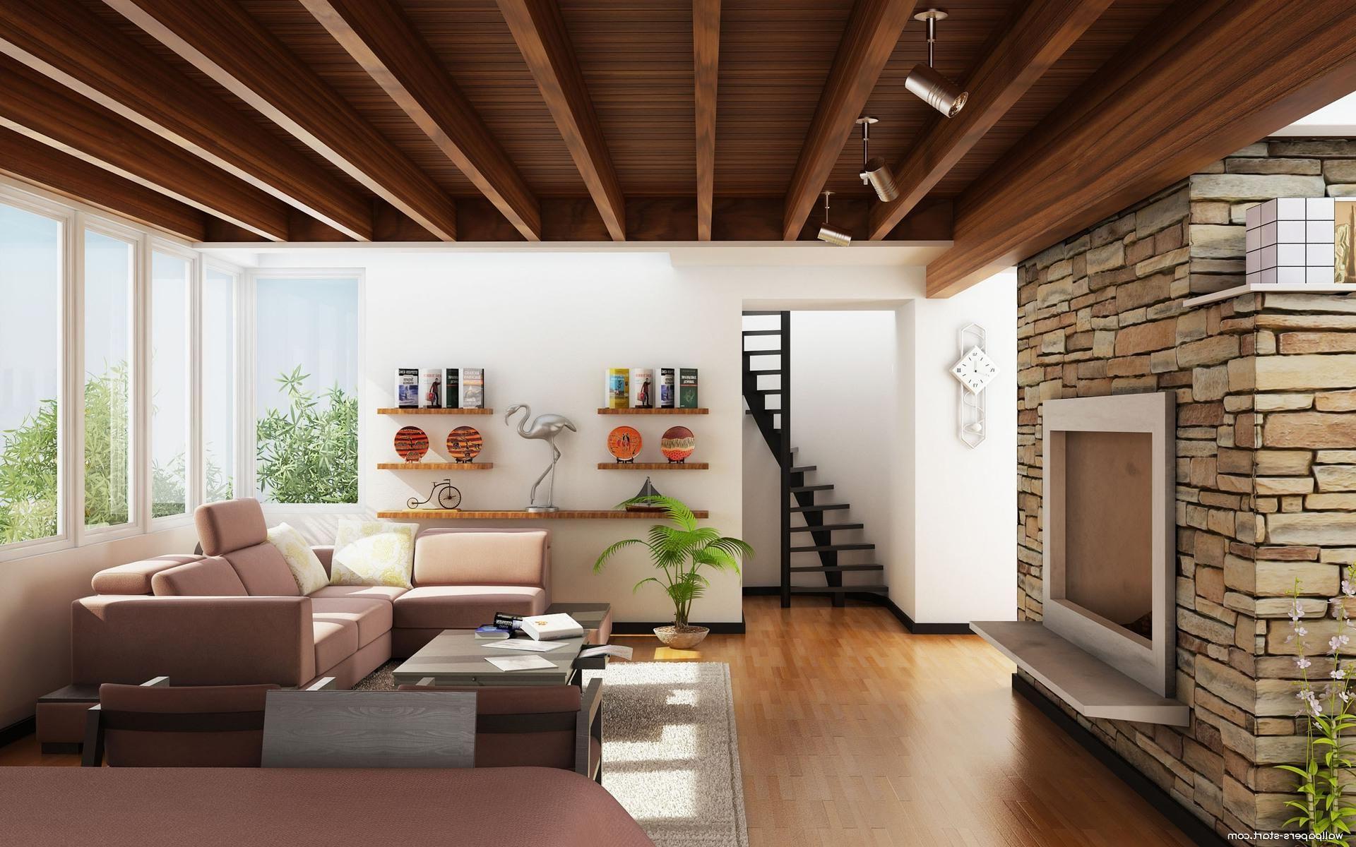 Wooden Ceiling Designs For Living Room | homeinteriors7