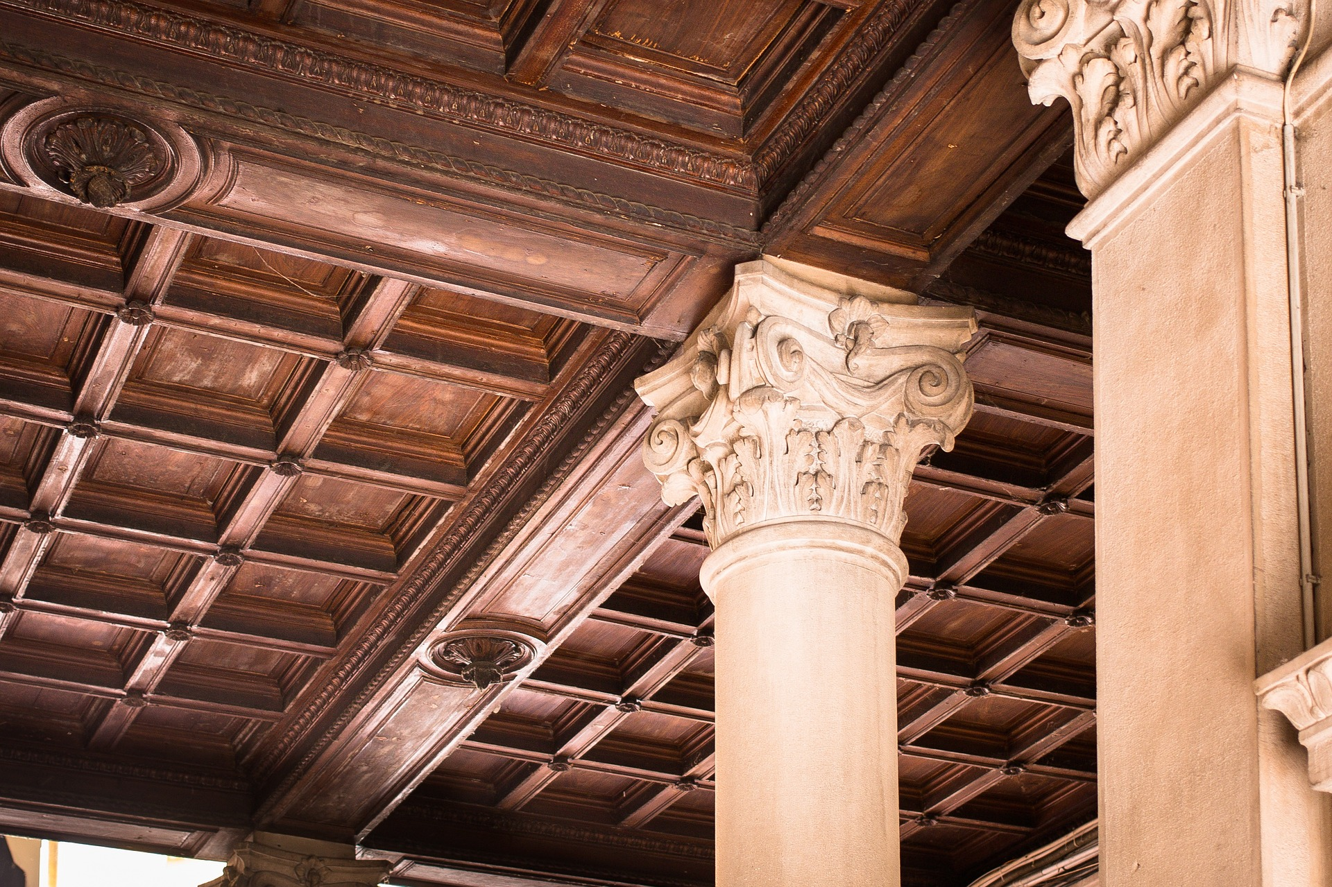 Wooden Ceiling, Architecture, Ceiling, Construction, Design, HQ Photo