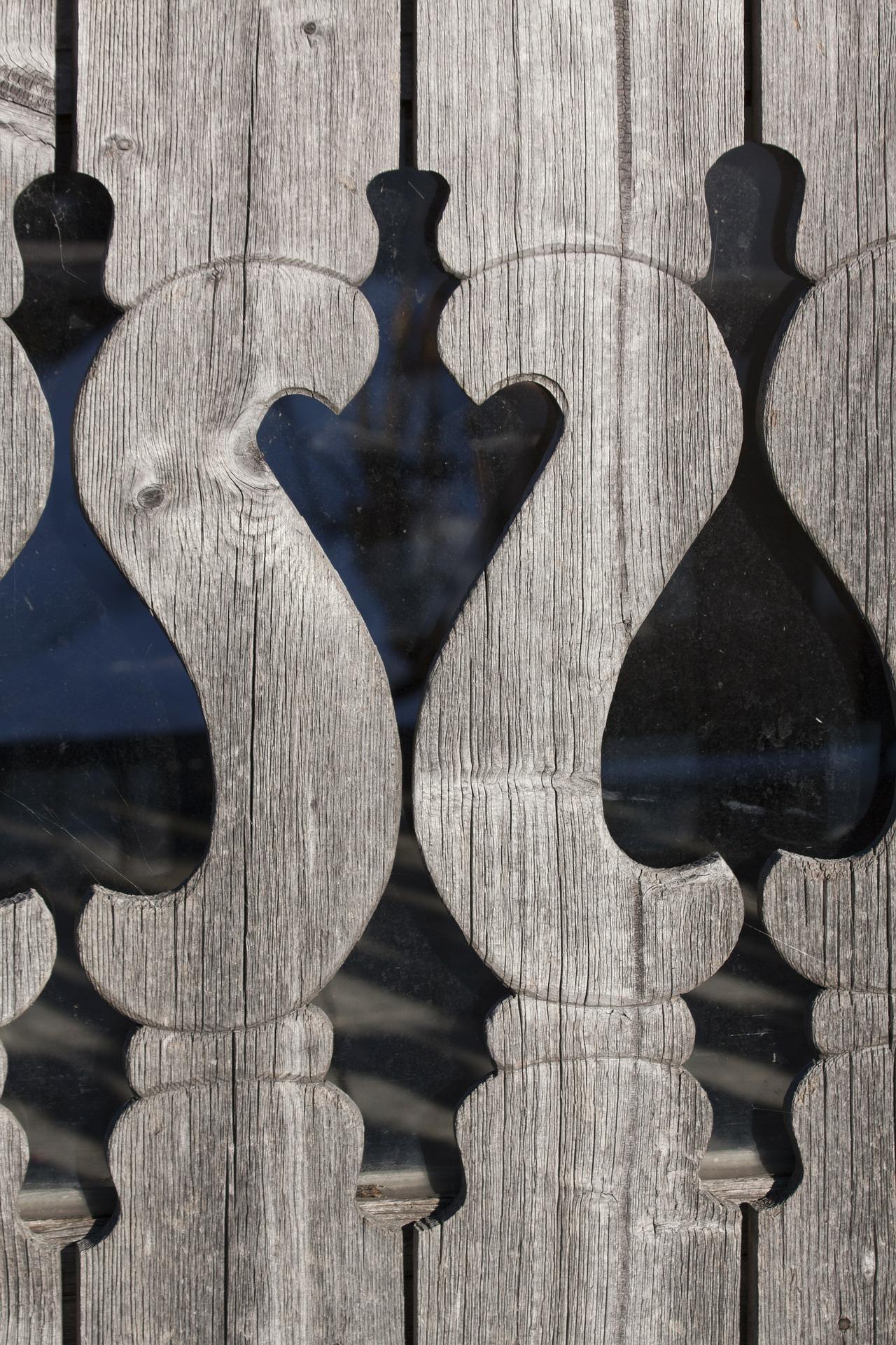 Wooden design photo