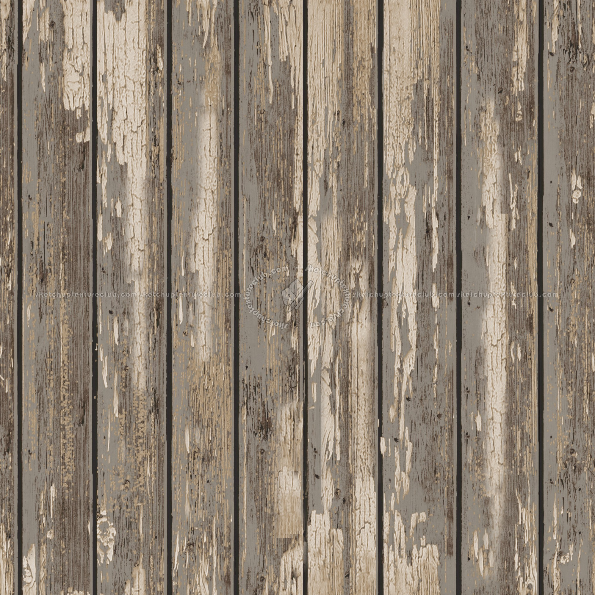 Varnished dirty planks textures seamless