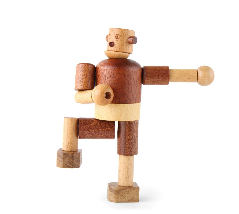 Leo & Bella | Soopsori Wooden Robot