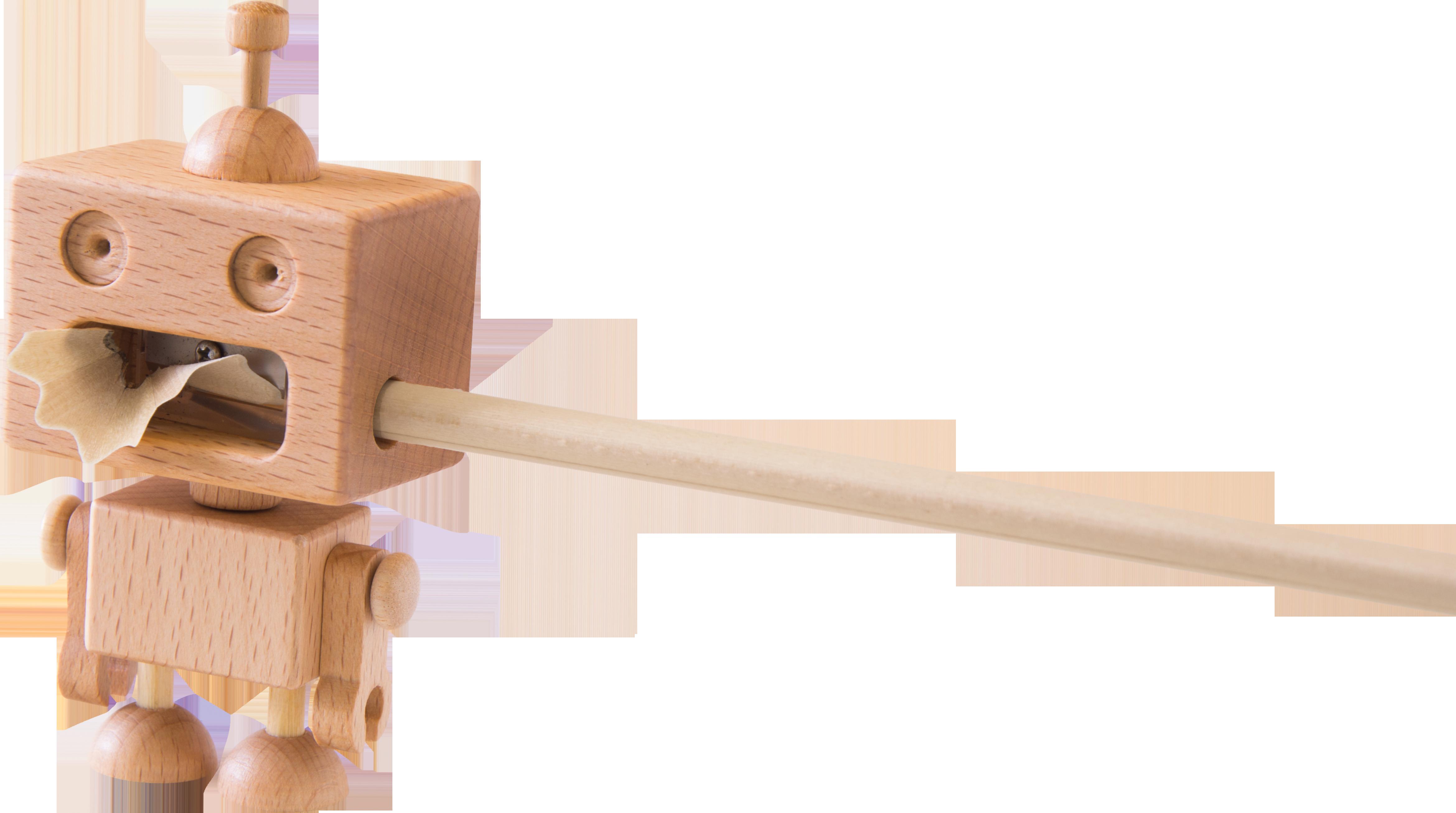 Wooden Robot Pencil Sharpener by Carpenter | Furniture & Home Décor ...
