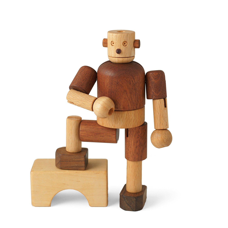 Amazon.com: Soopsori Wooden Robot: Toys & Games