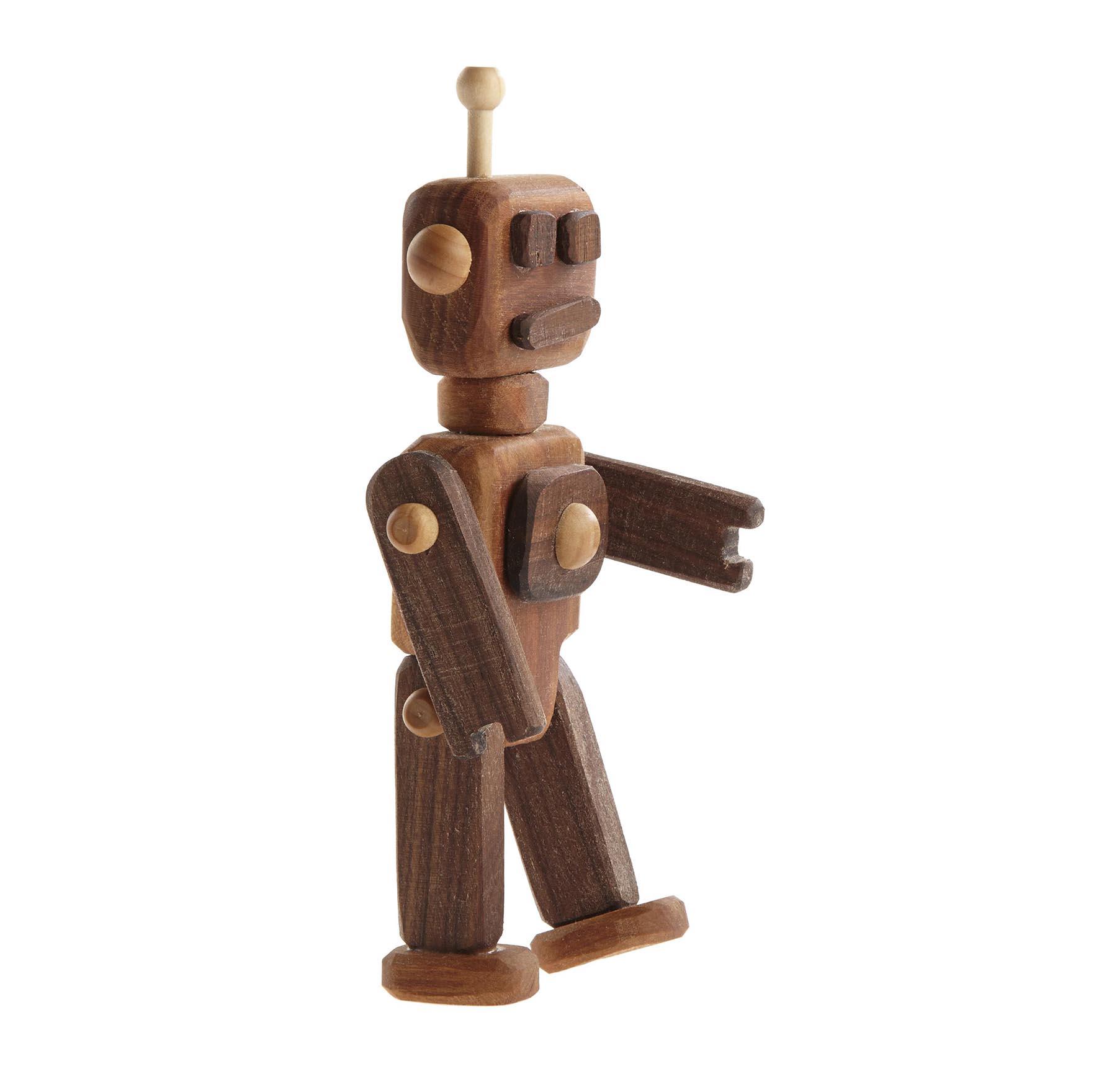 Wooden Robot - Oliver & Adelaide