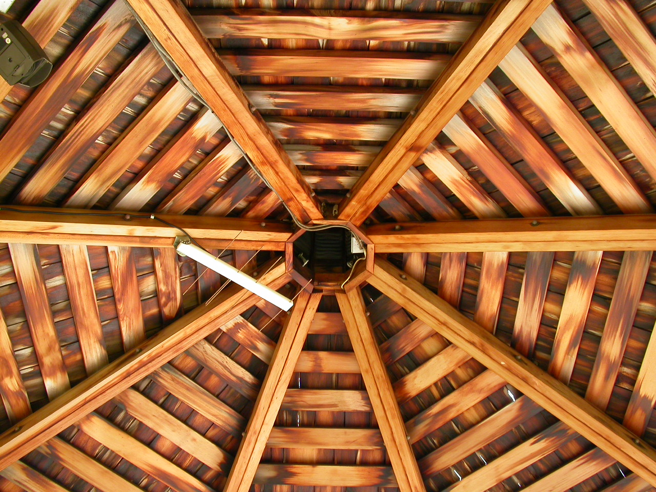 Free Photo Wooden Roof Structure Structure Wood Star Free