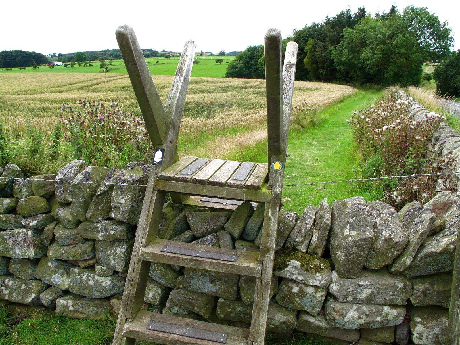 fence stile | Country Stiles, Gates, and Fences | Pinterest | Fences ...