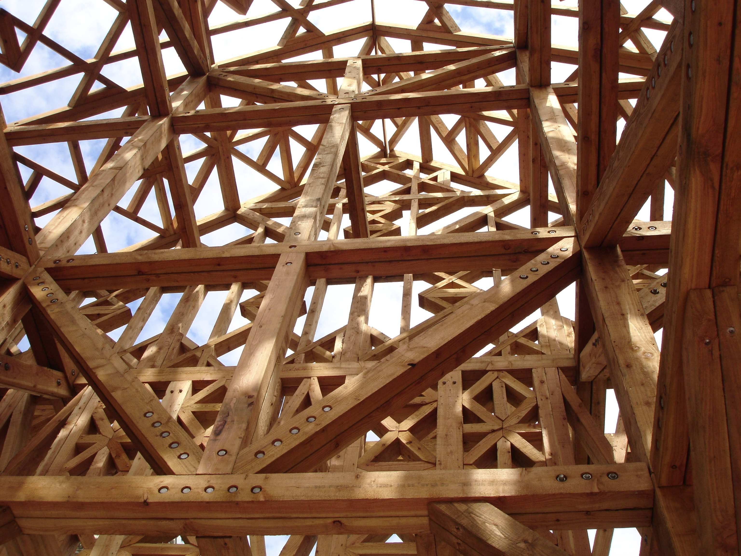 Inside Wooden Structure Aldgate | The Lady Travels