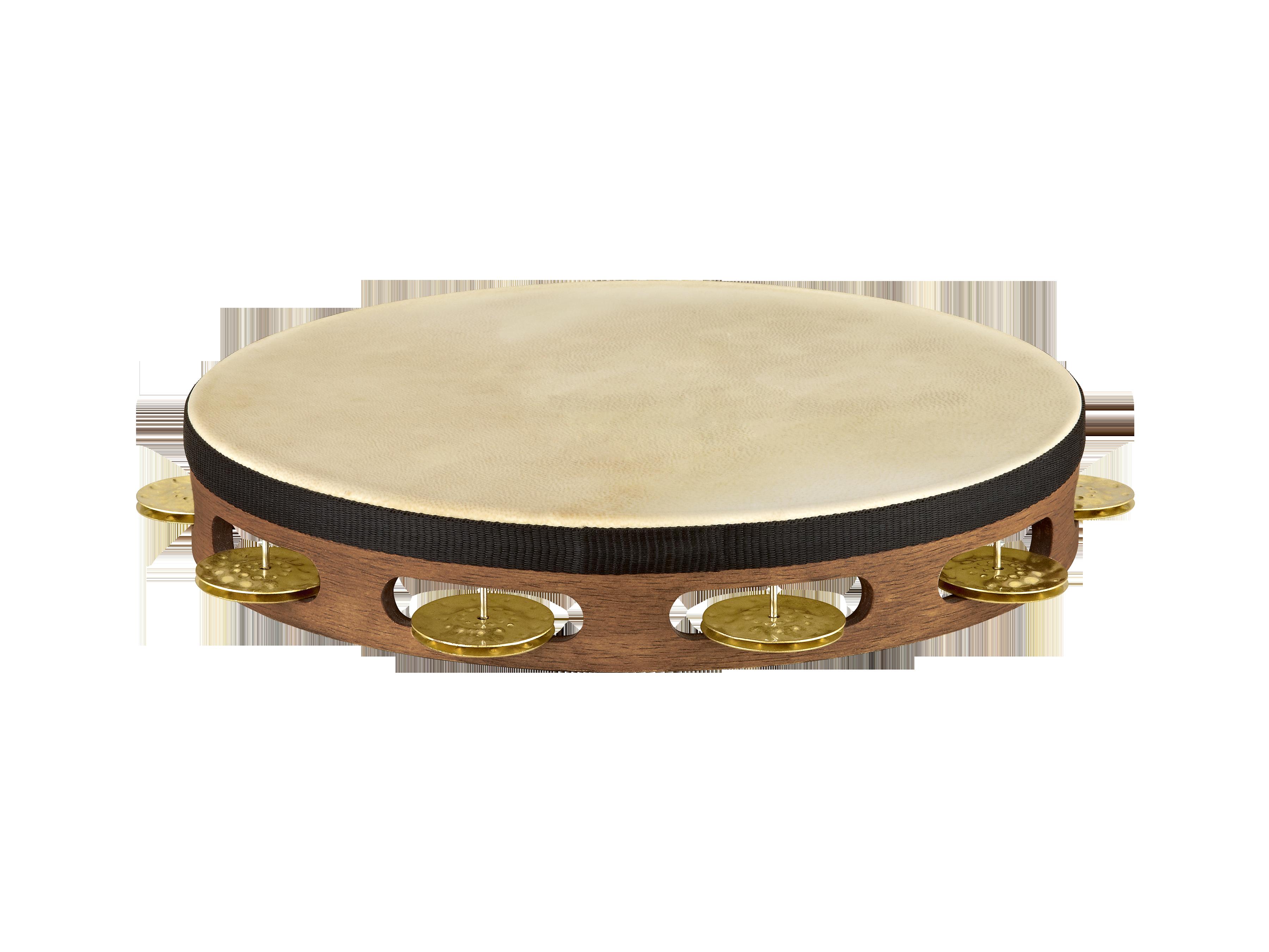 Wooden tambourine photo
