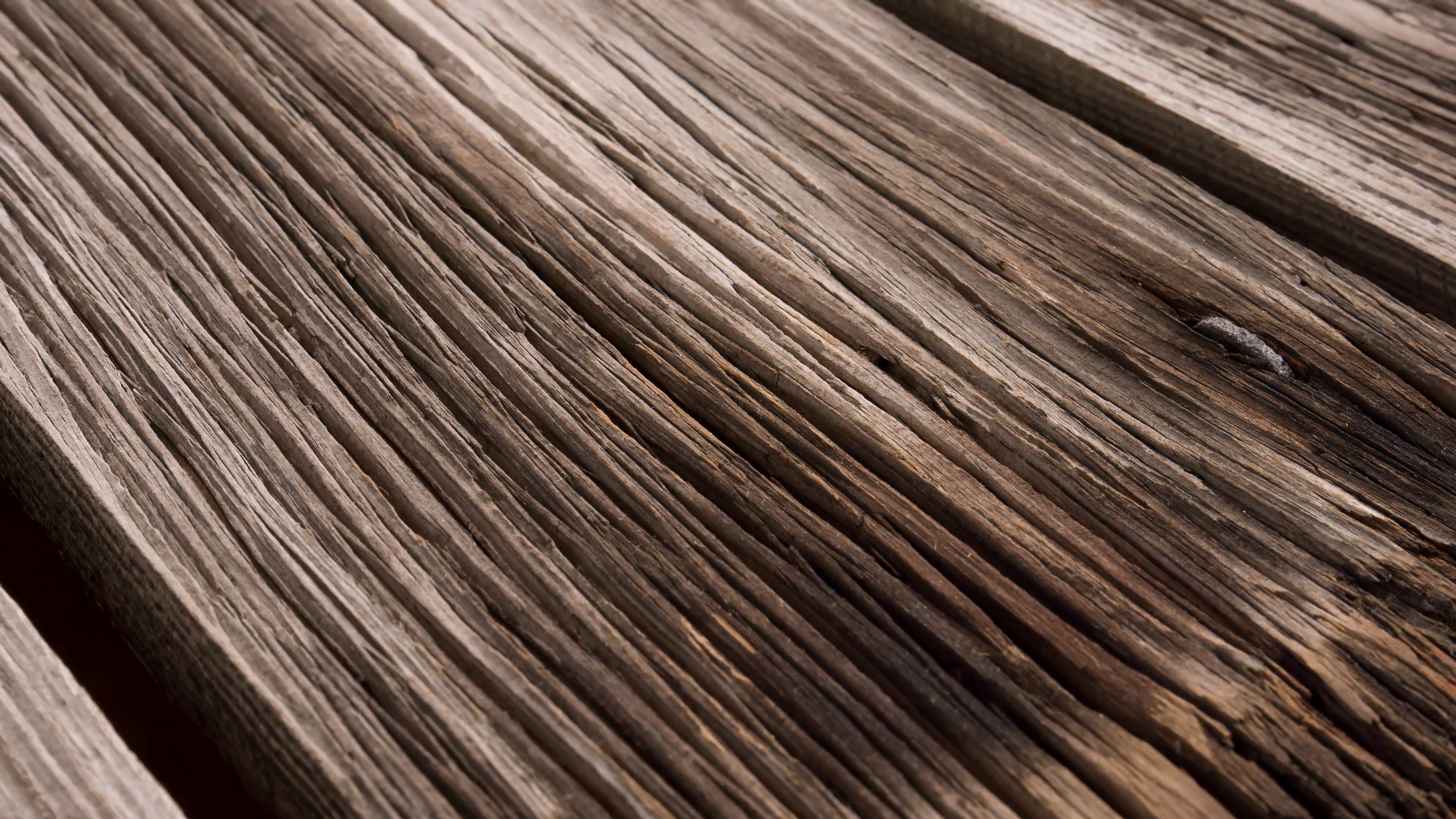 Wooden texture motion dolly-shot background, 4k macro old wood ...