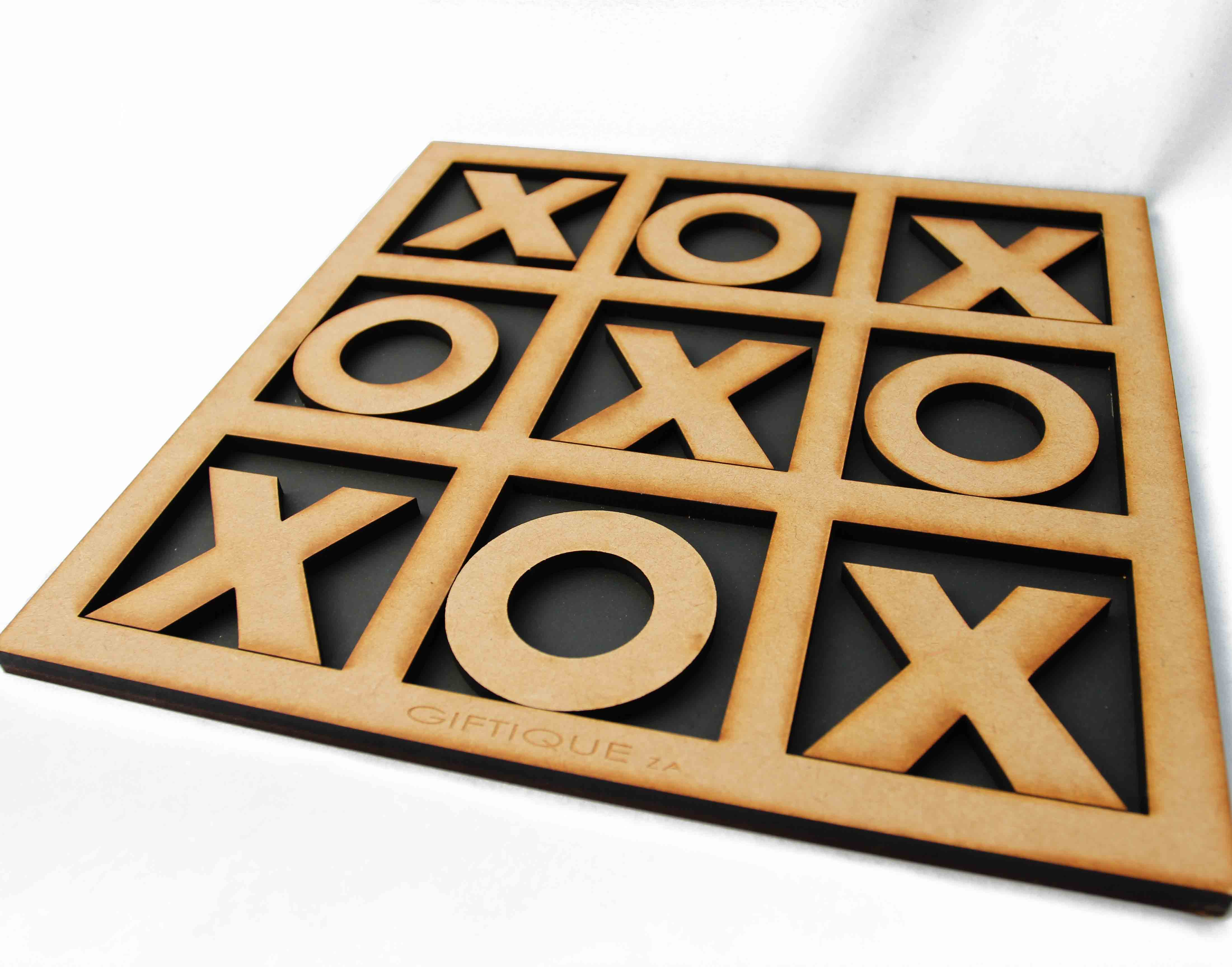 Tic Tac Toe Wooden Game - Wave2Africa - online gifts / decor