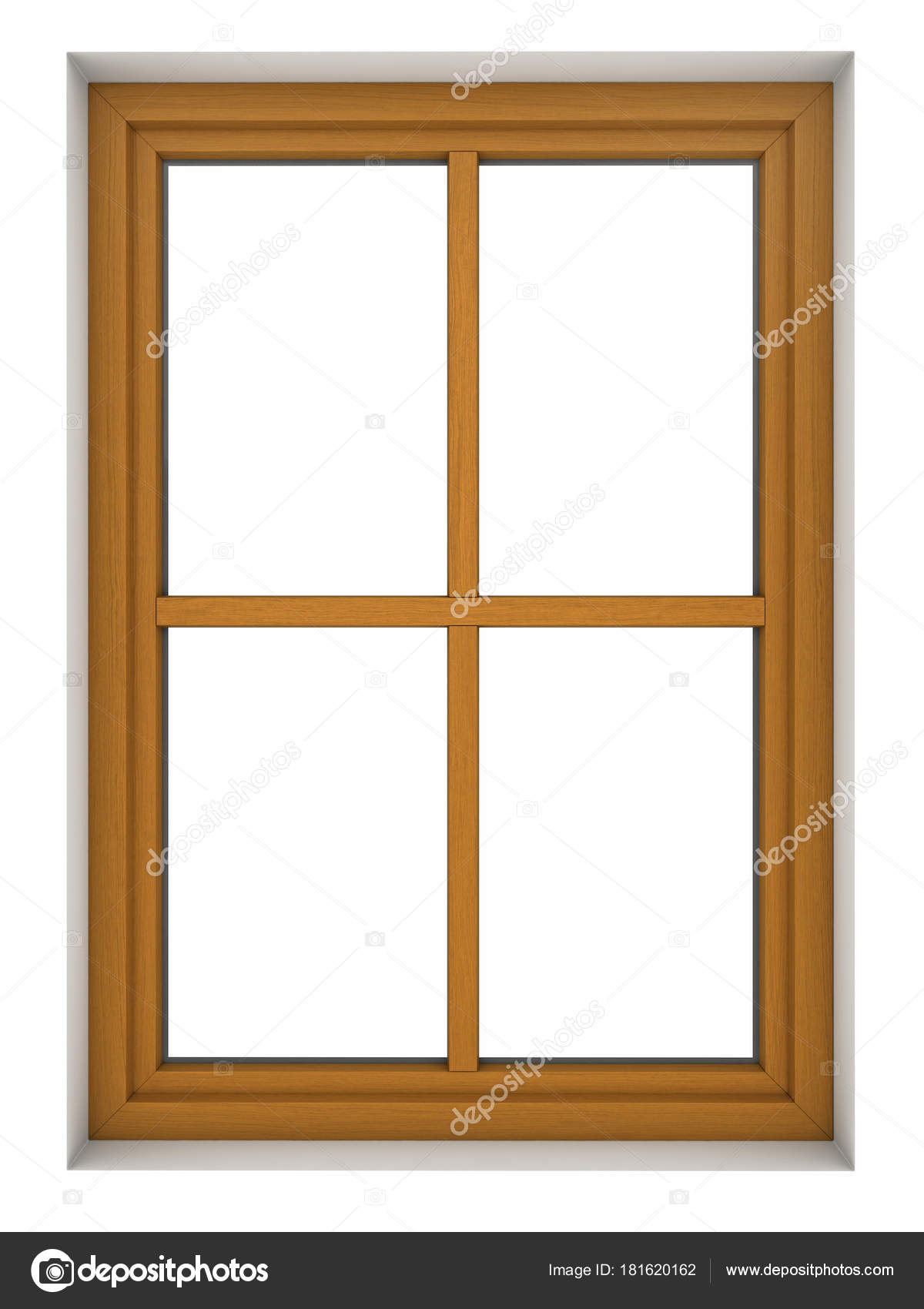Wooden window frame — Stock Photo © oorka5 #181620162