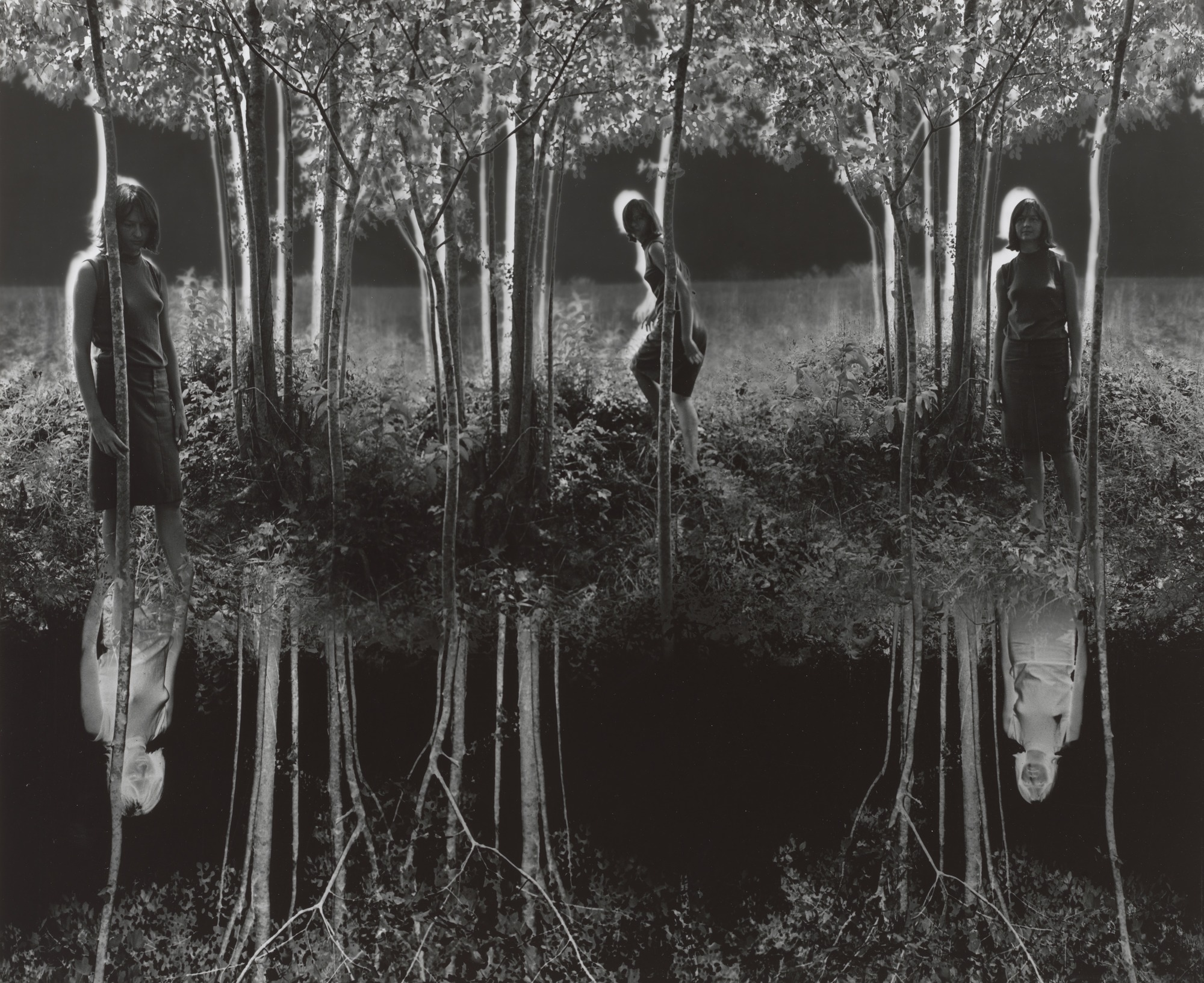 Jerry Uelsmann. Small Woods Where I Met Myself. 1967   MoMA