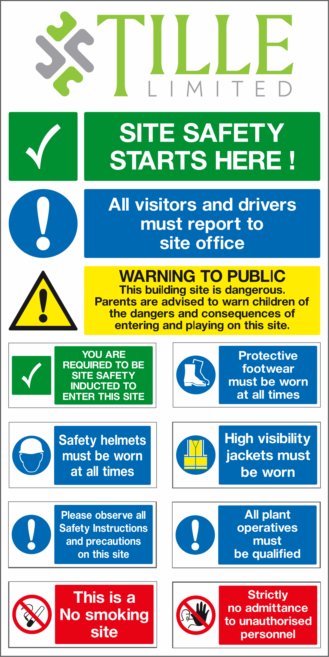 This is an image of Gorgeous Safety Signs Free