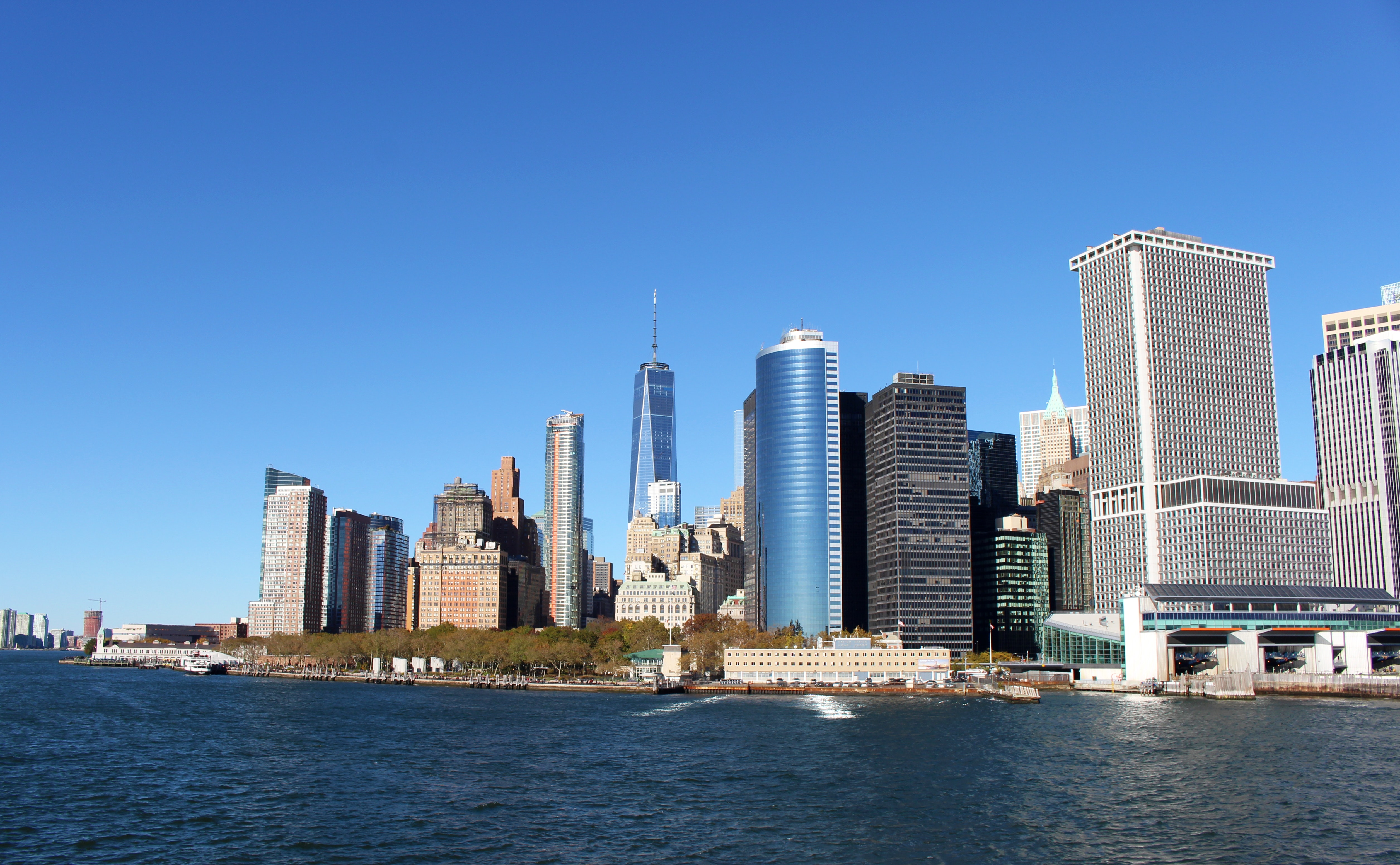 World trade center in cityscape photography