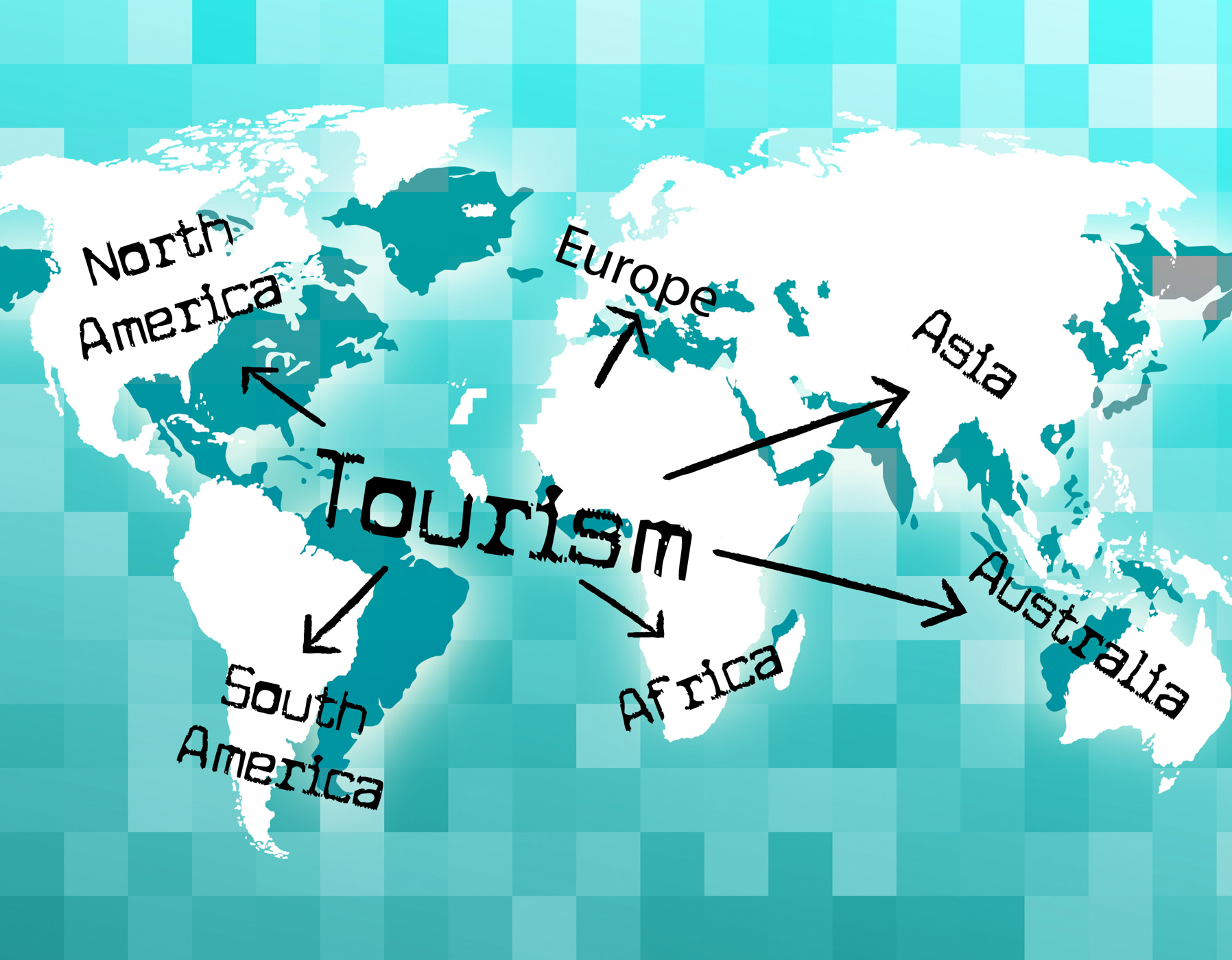 Worldwide Tourism Shows Tourist Vacationing And Voyages, Destinations, Tourist, Worldly, World, HQ Photo
