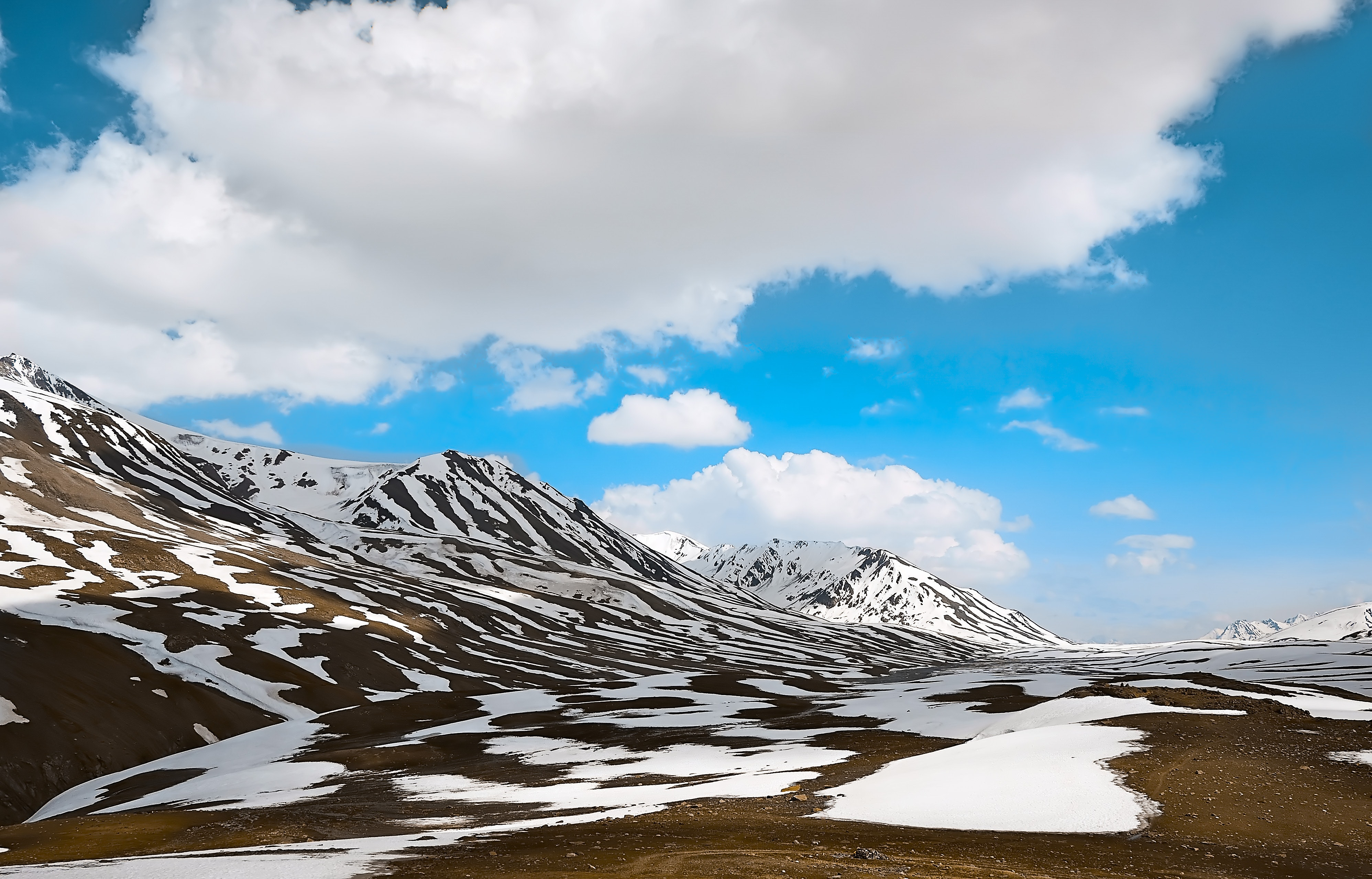 Worm's eye view photography of alps mountains