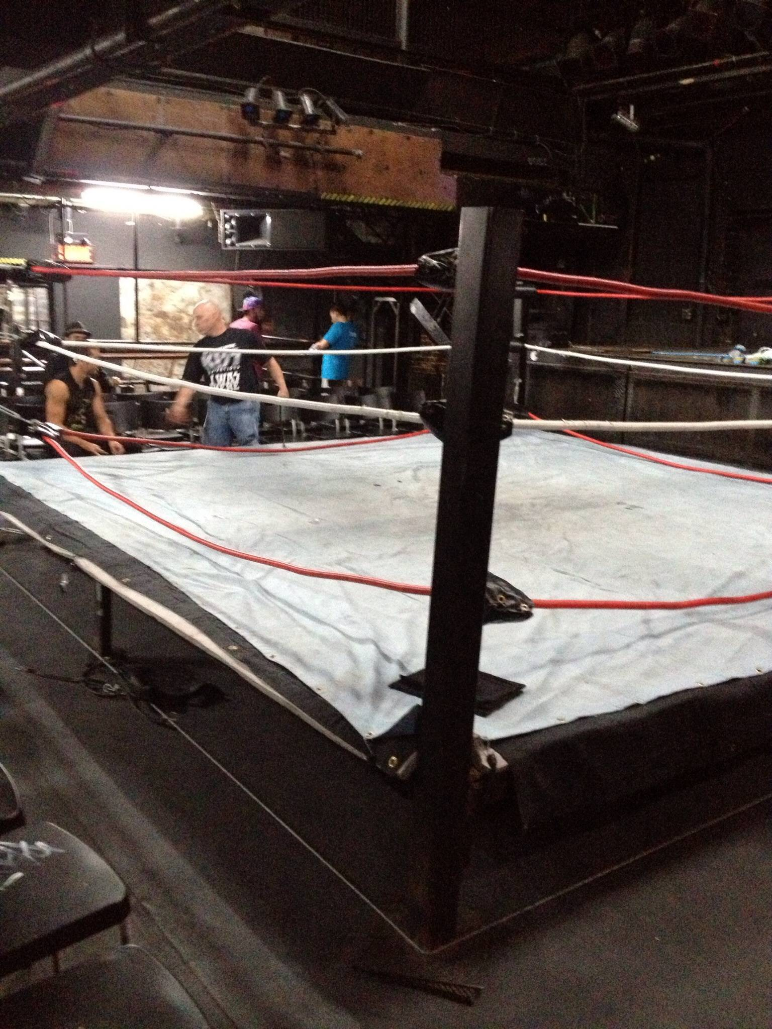 The worst part of indie wrestling. Building that damn ring ...