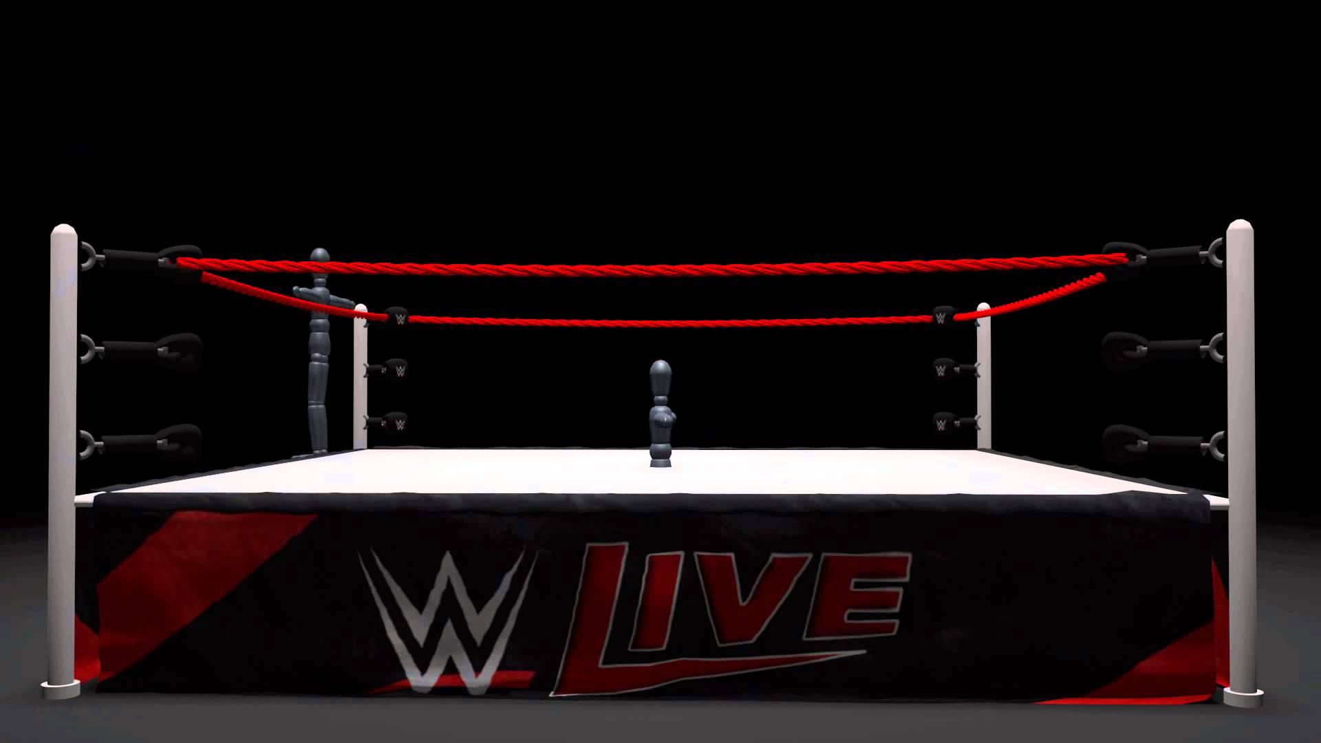 Wrestling Ring Simulation -WIP - YouTube