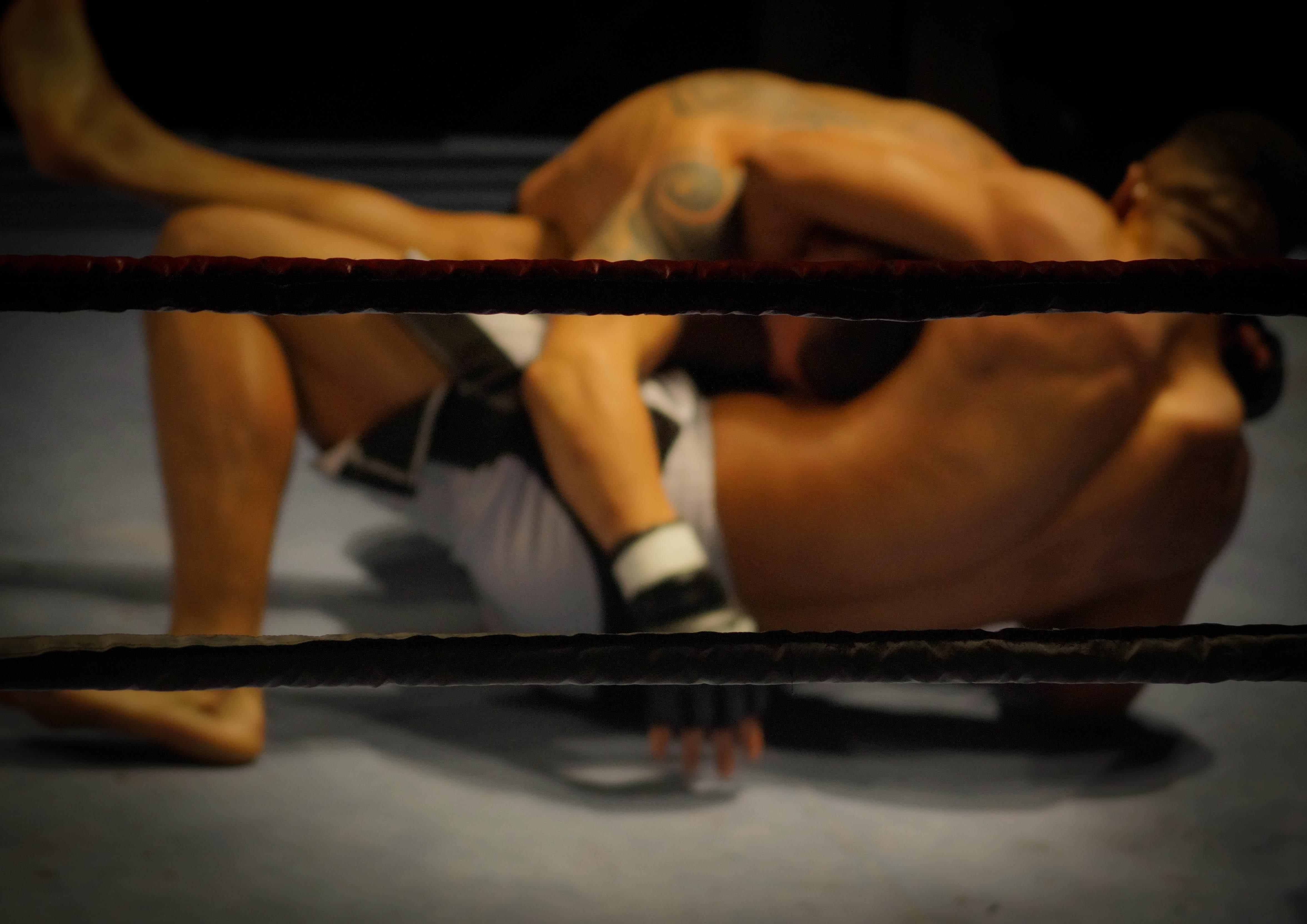 Wrestling ring photo