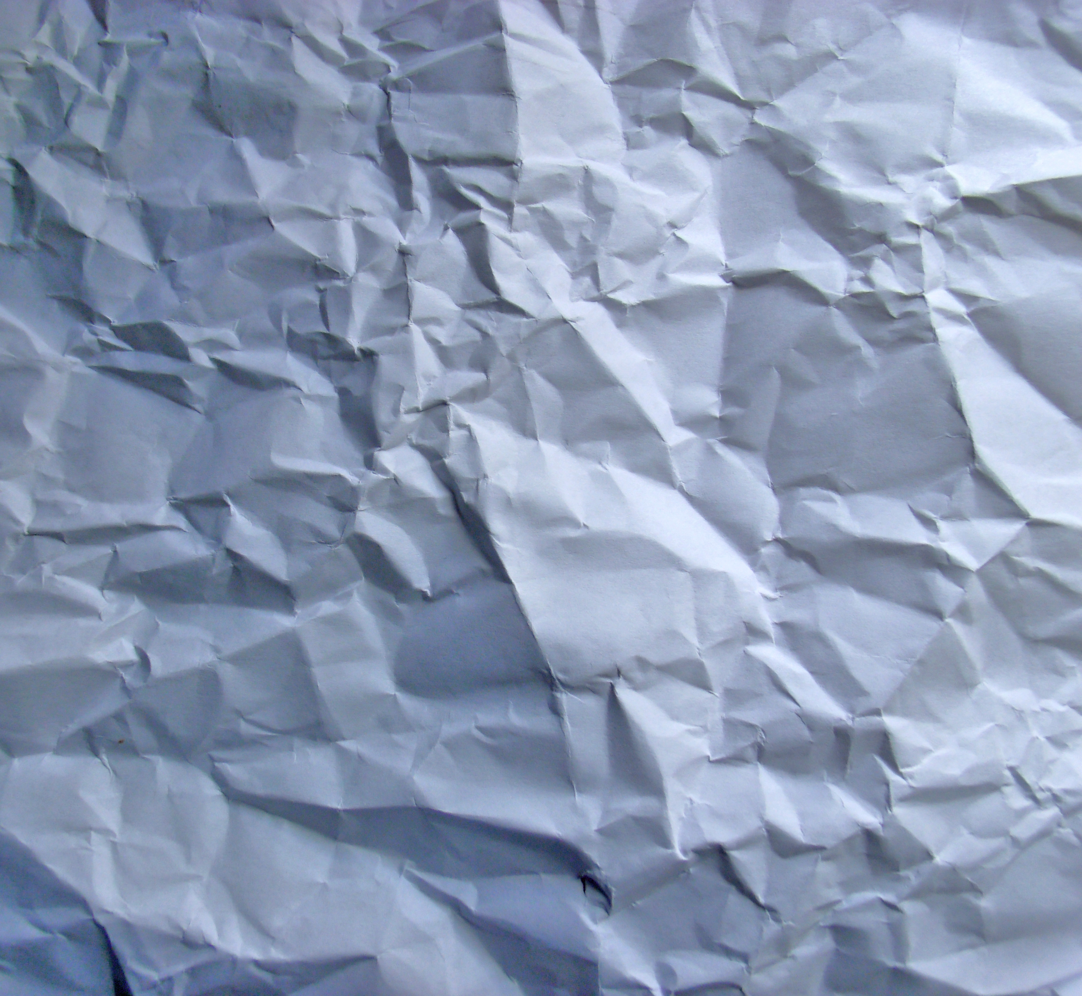 Wrinkled paper texture photo