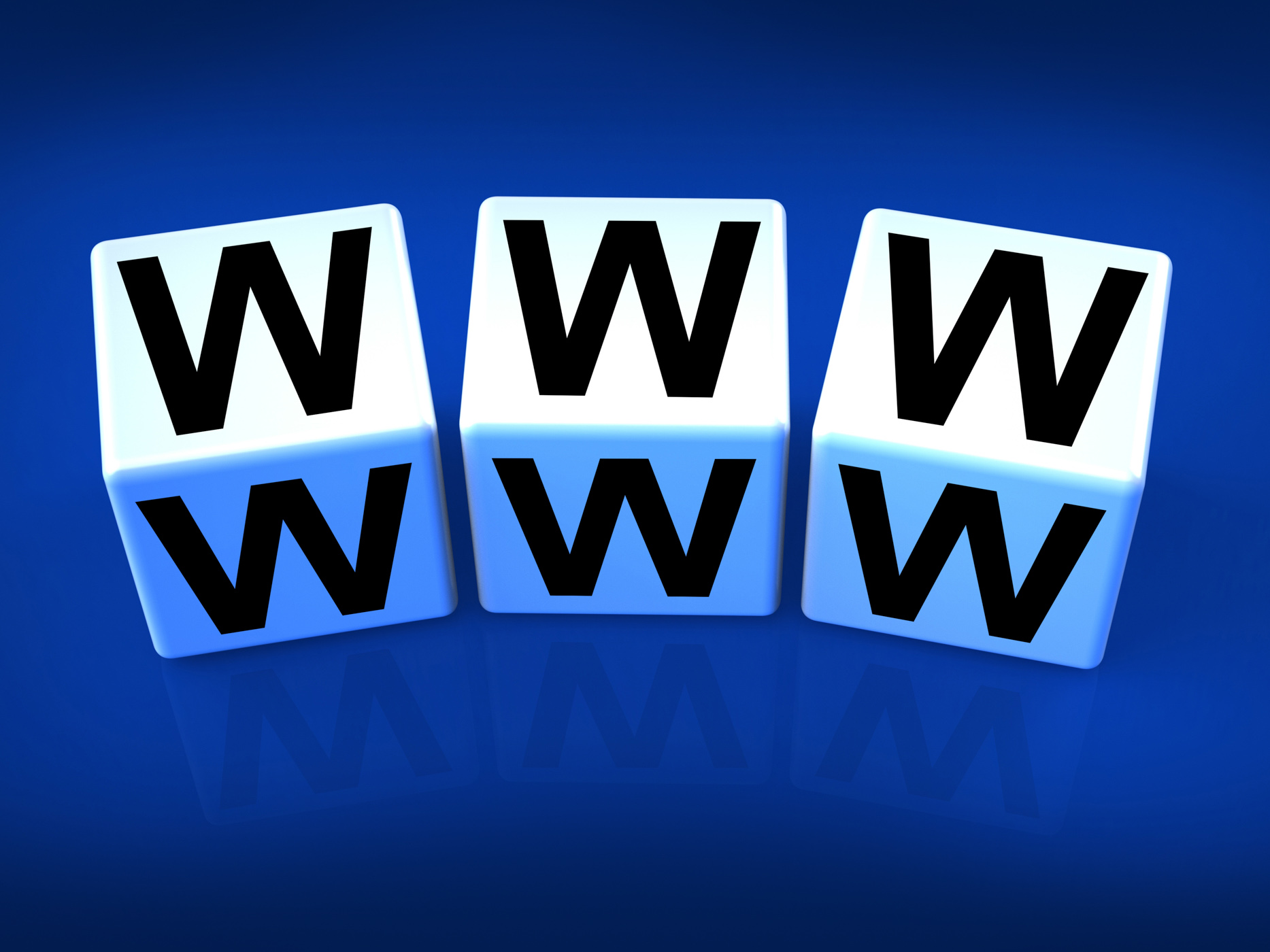 Www blocks refer to the world wide web photo