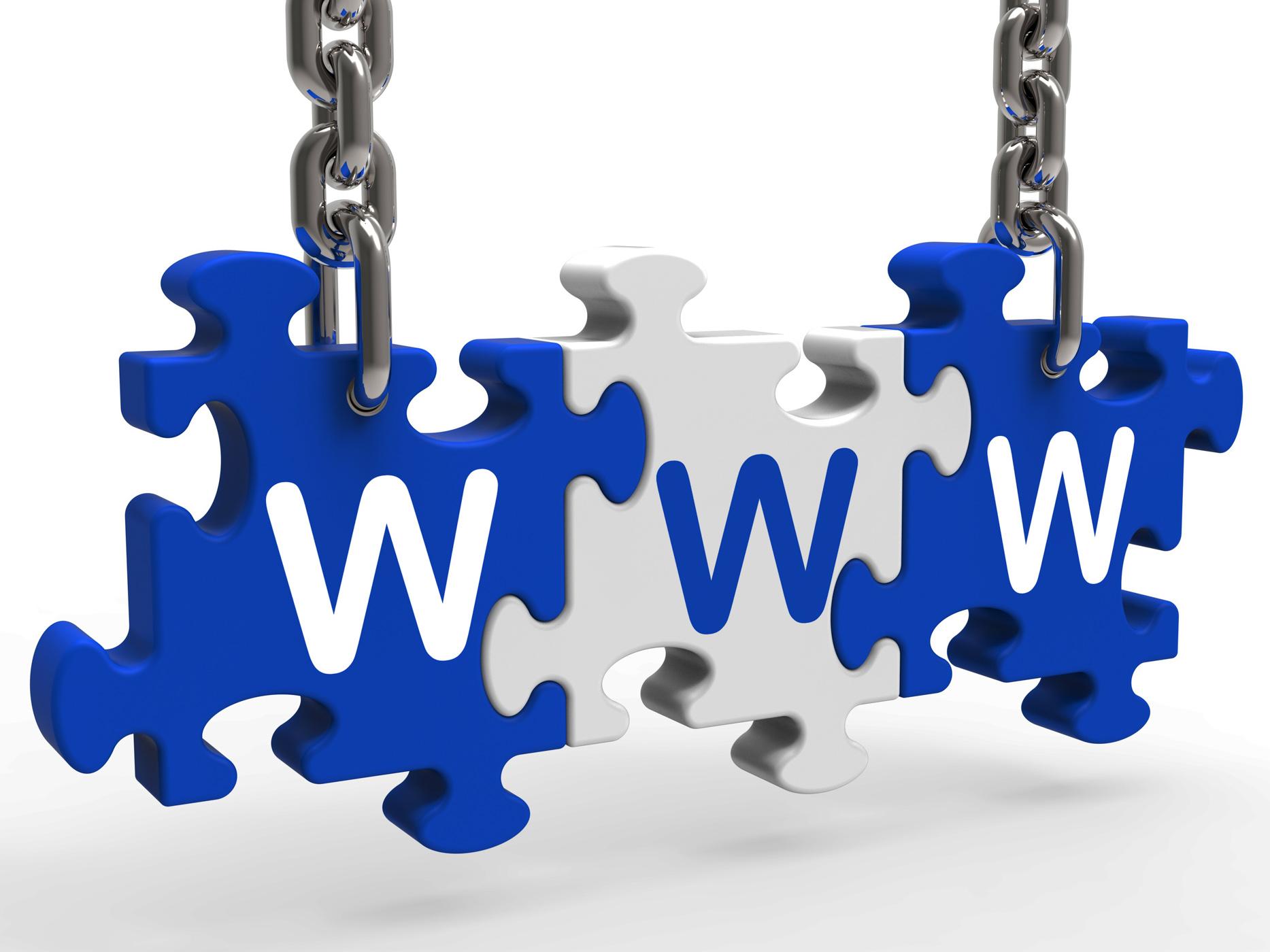 Www Puzzle Shows Online Websites Or Internet, Http, Information, Internet, Net, HQ Photo