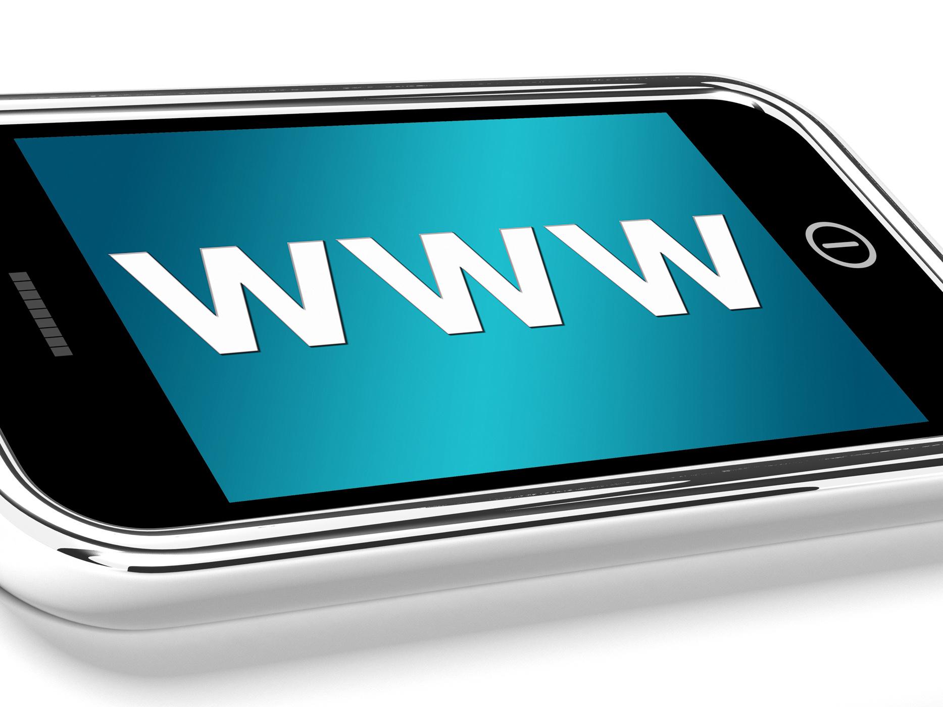 Www shows online websites or mobile internet photo
